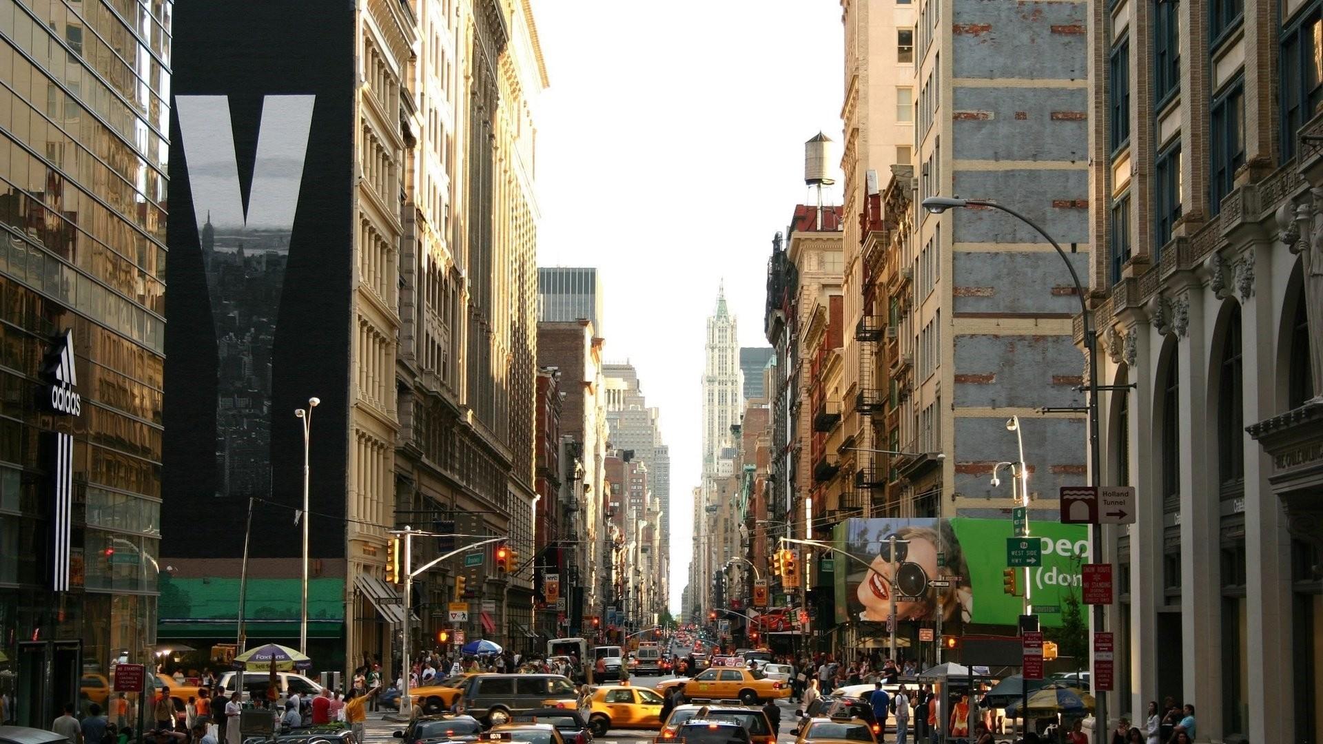 New York Street Wallpaper Picture hd