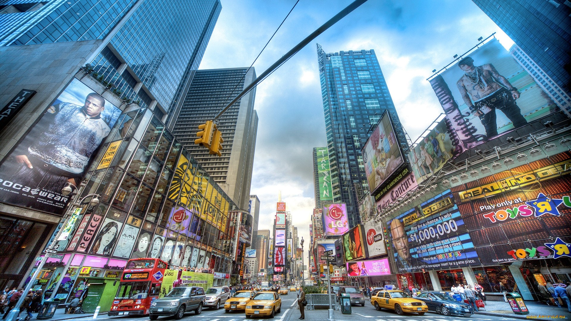 New York Street hd desktop wallpaper