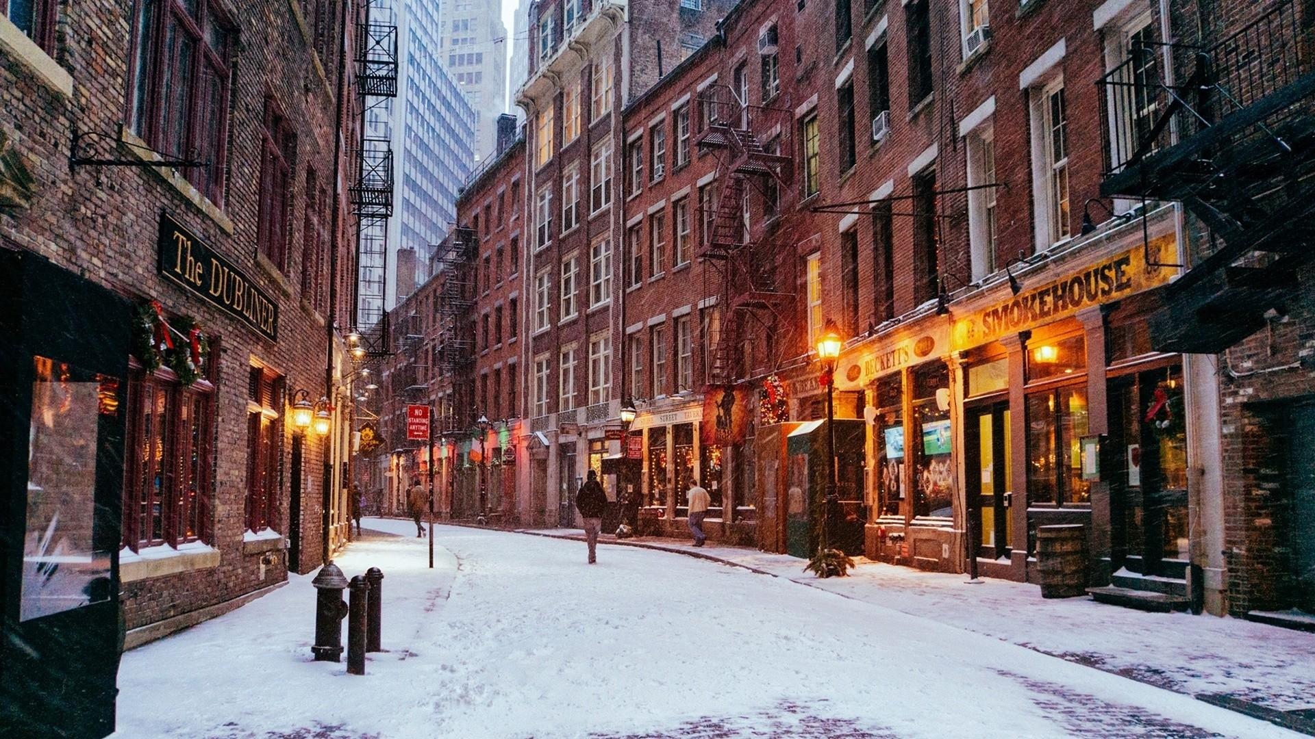 New York Street hd wallpaper download