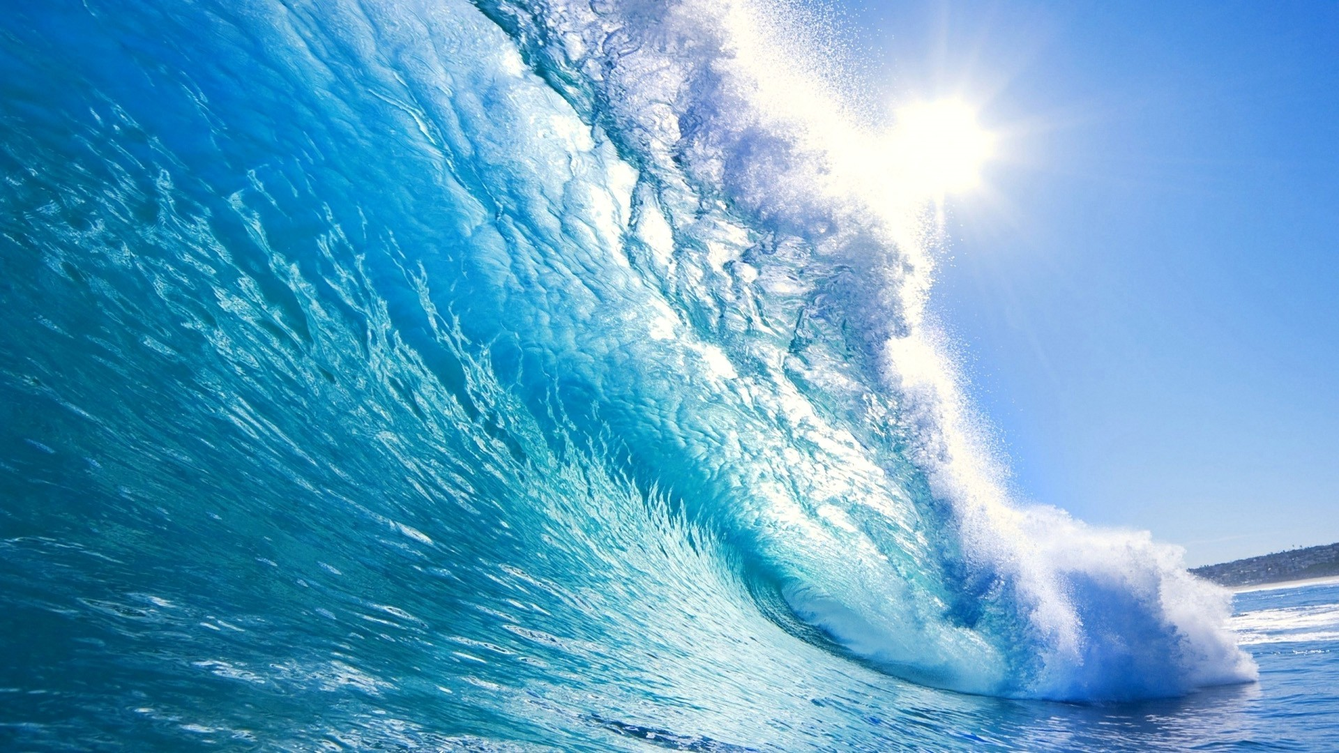Ocean Nature Desktop wallpaper