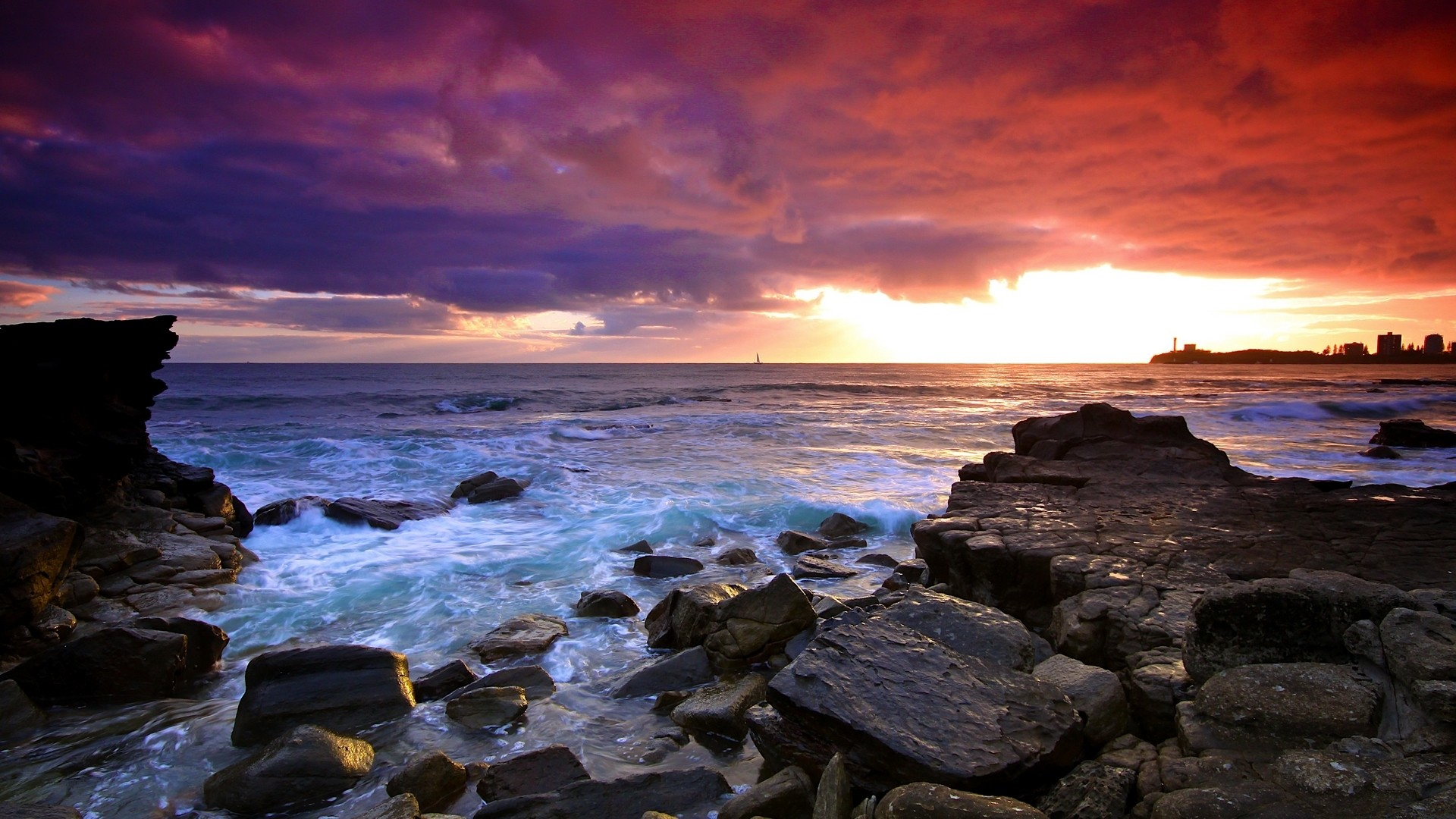 Ocean Nature PC Wallpaper HD