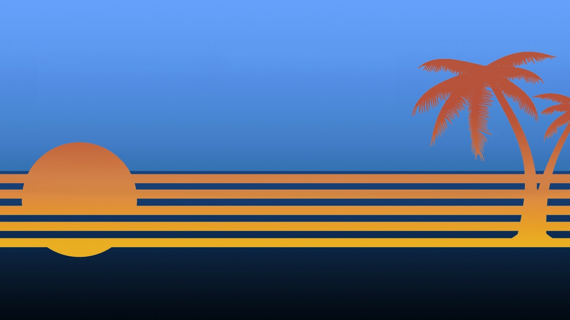 Palm Tree Background Wallpaper