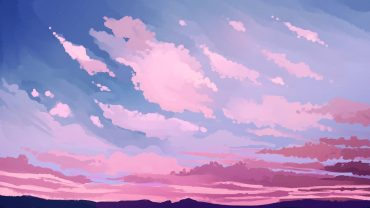 Pink Cloud Free Wallpaper