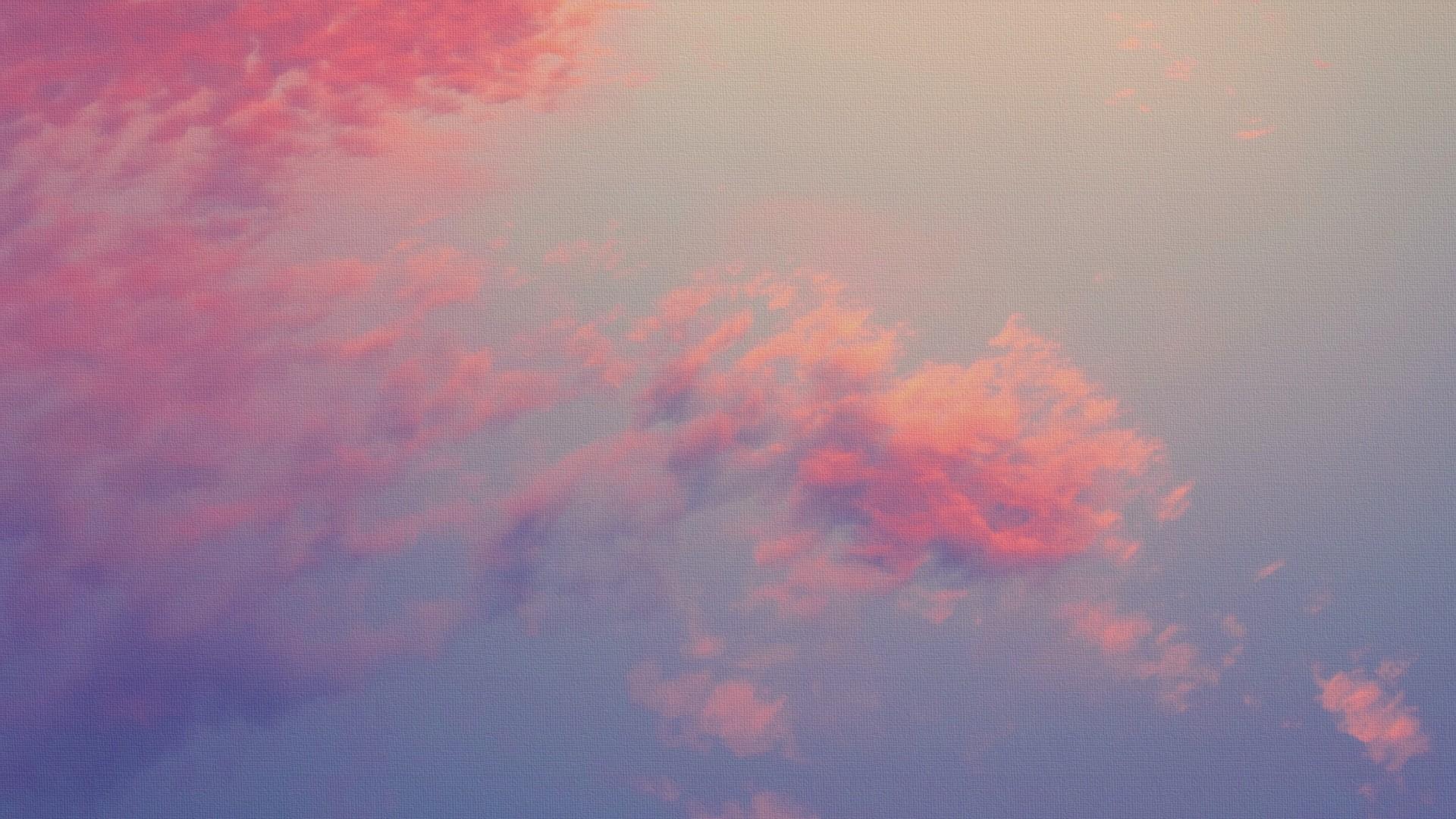 Pink Cloud a wallpaper