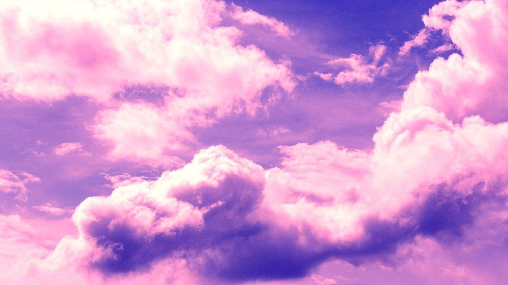 Pink Cloud Free Wallpaper and Background