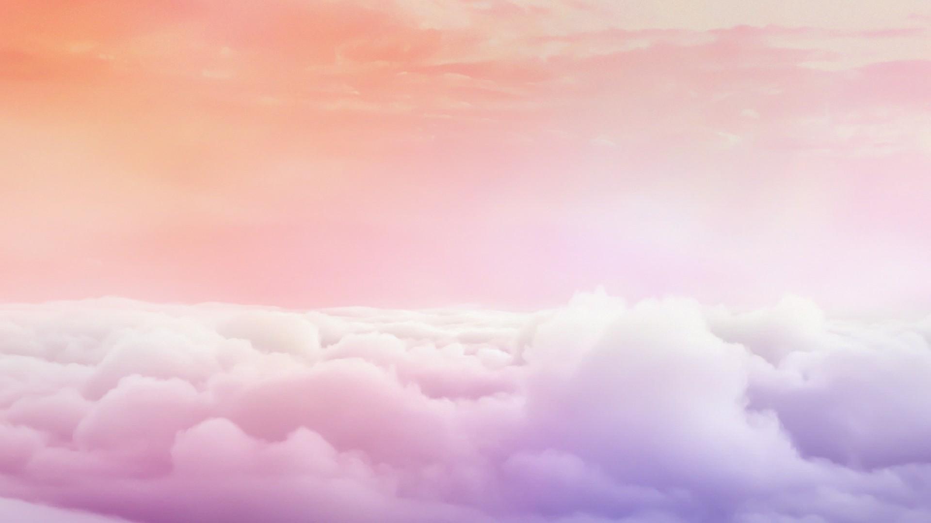 Pink Cloud Free Wallpaper