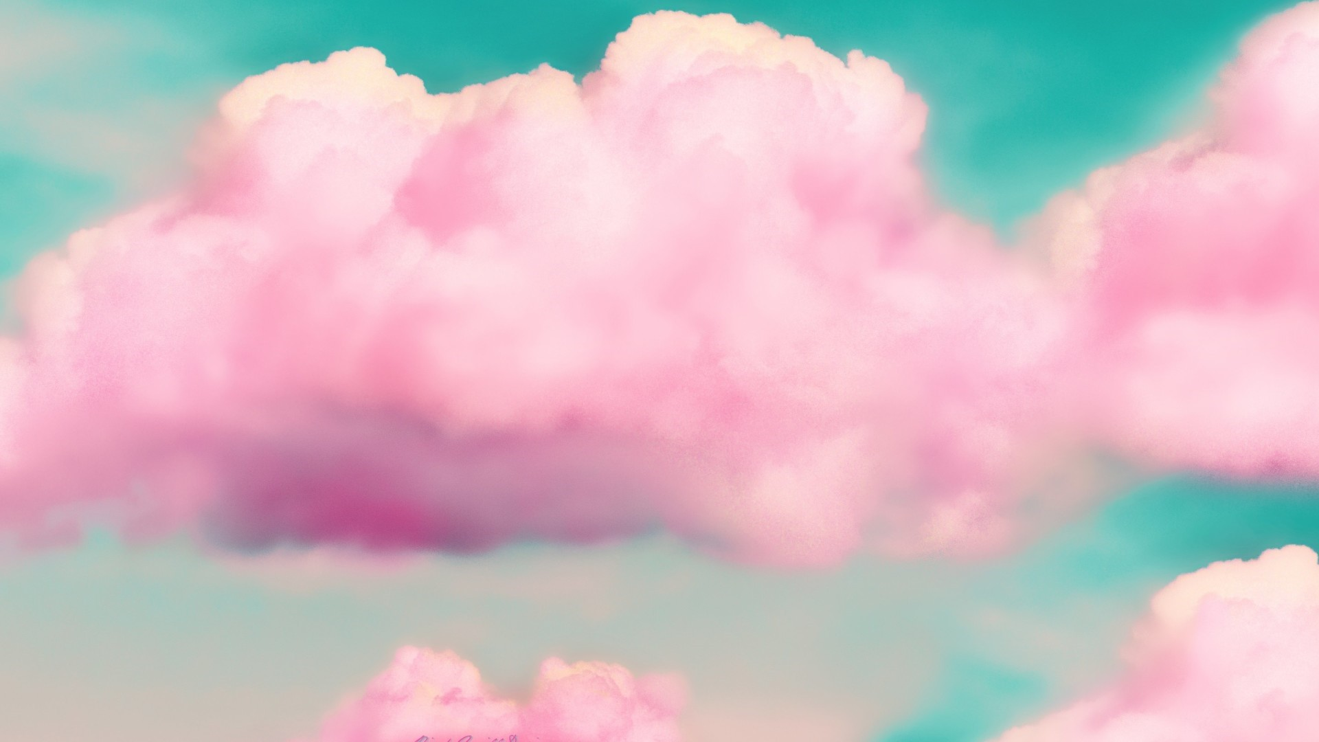 Pink Cloud HD Wallpaper