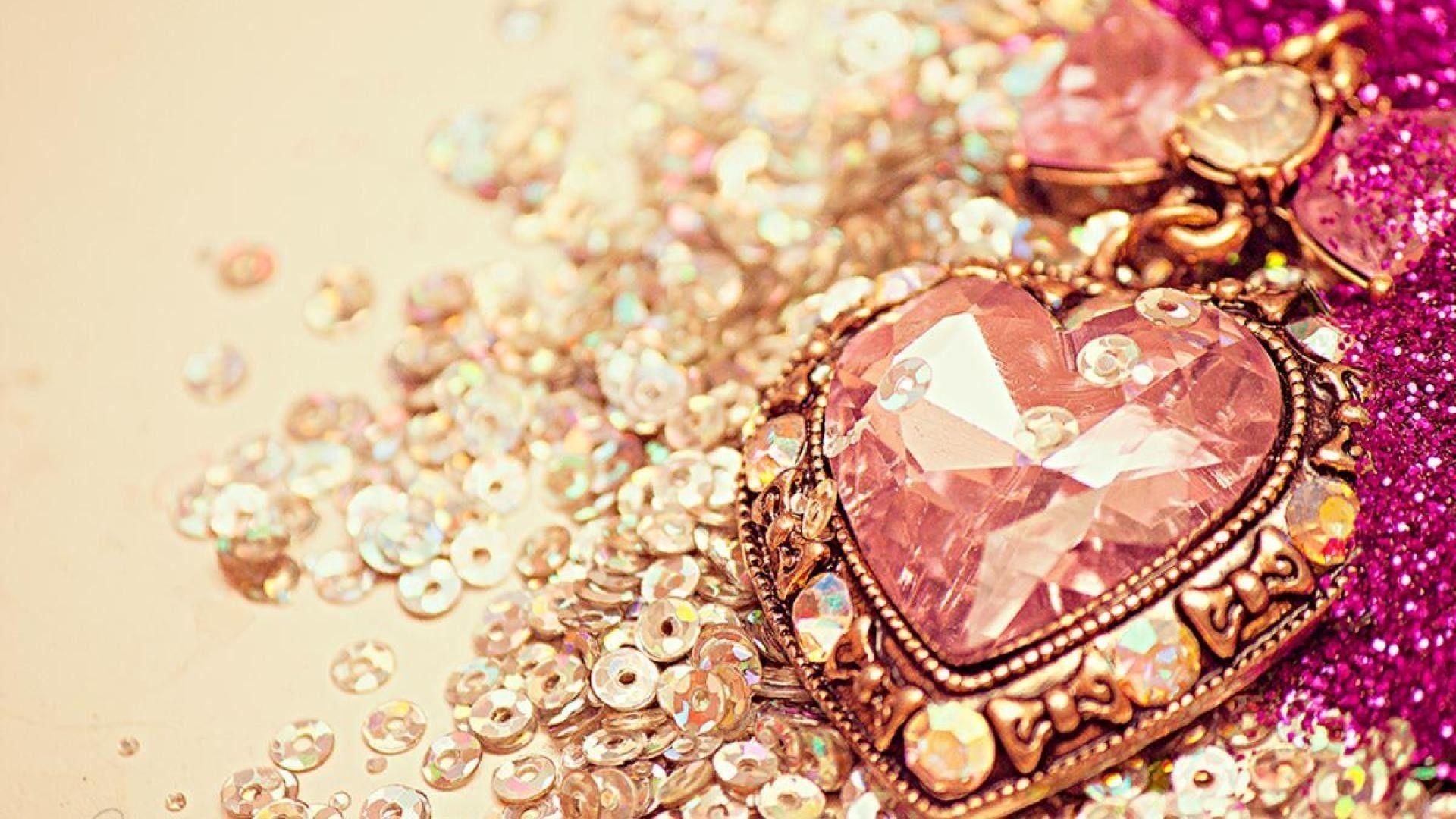 Rose Gold Cute Background