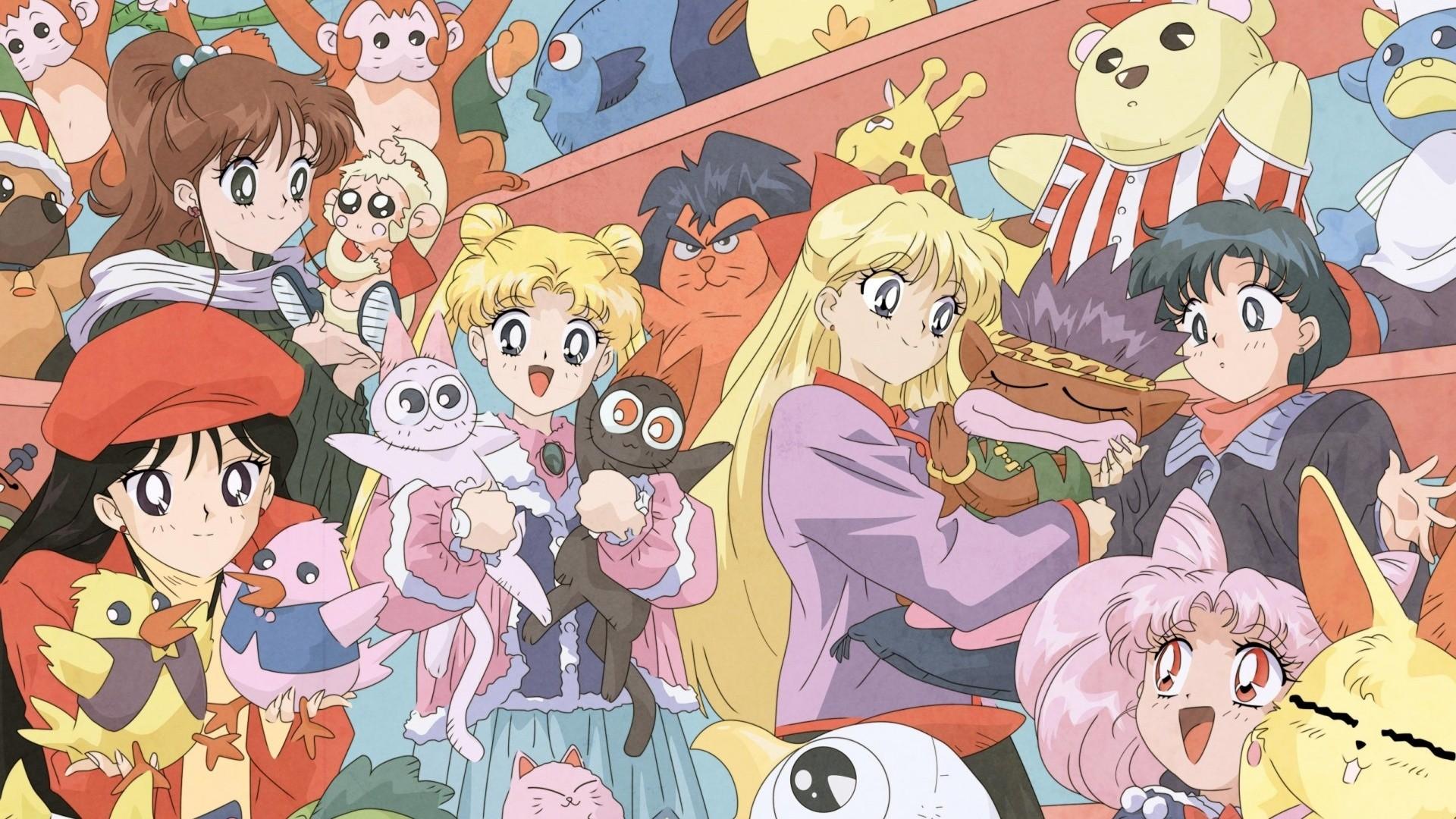 Sailor Moon Background