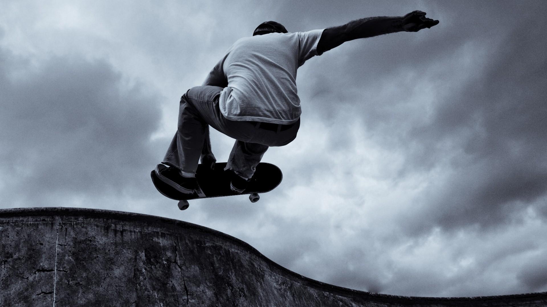 Skateboard computer wallpaper