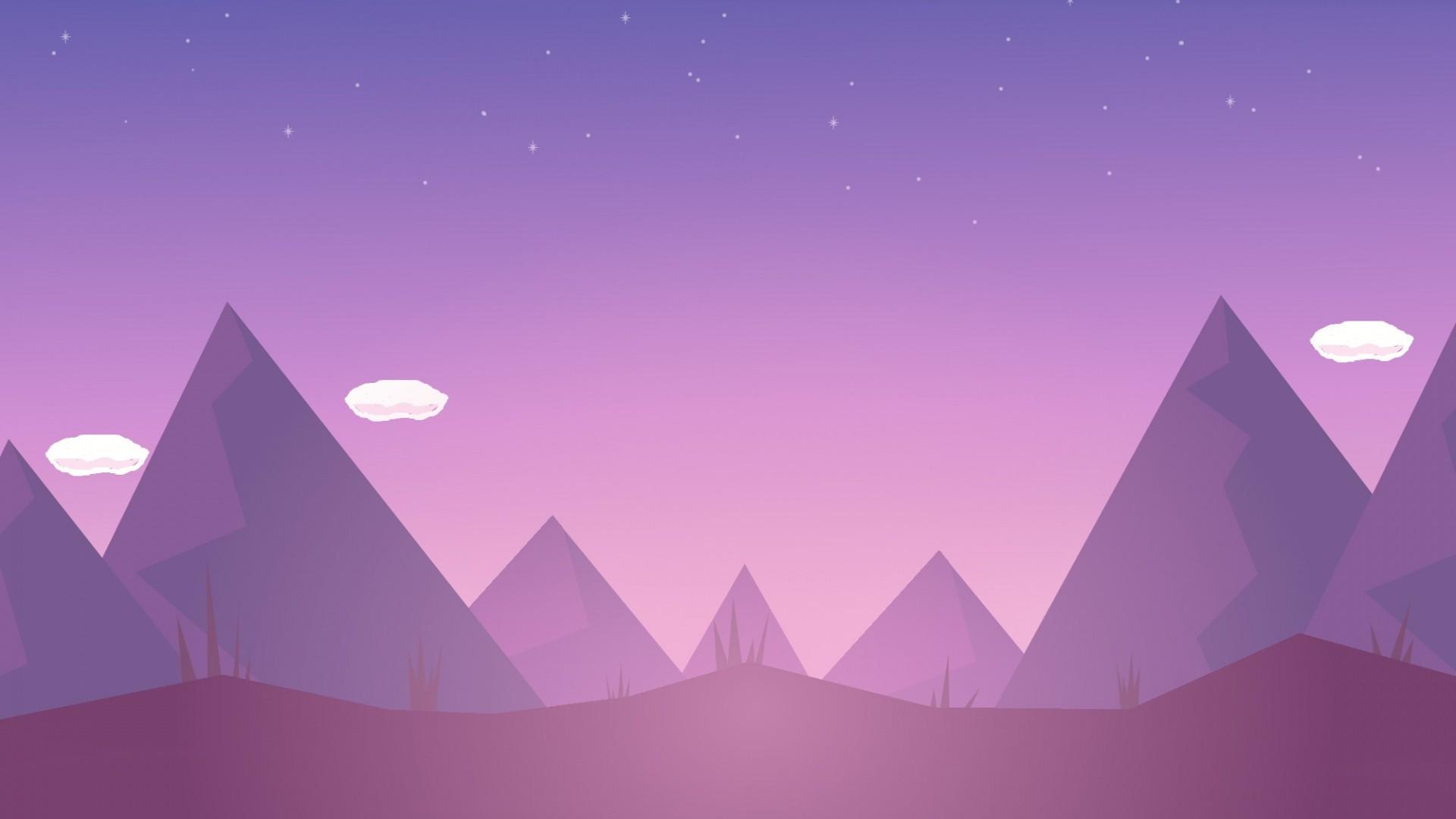 Sky Minimalist Desktop Wallpaper