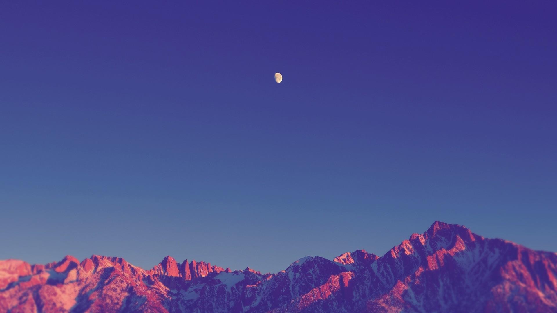 Sky Minimalist Background Wallpaper