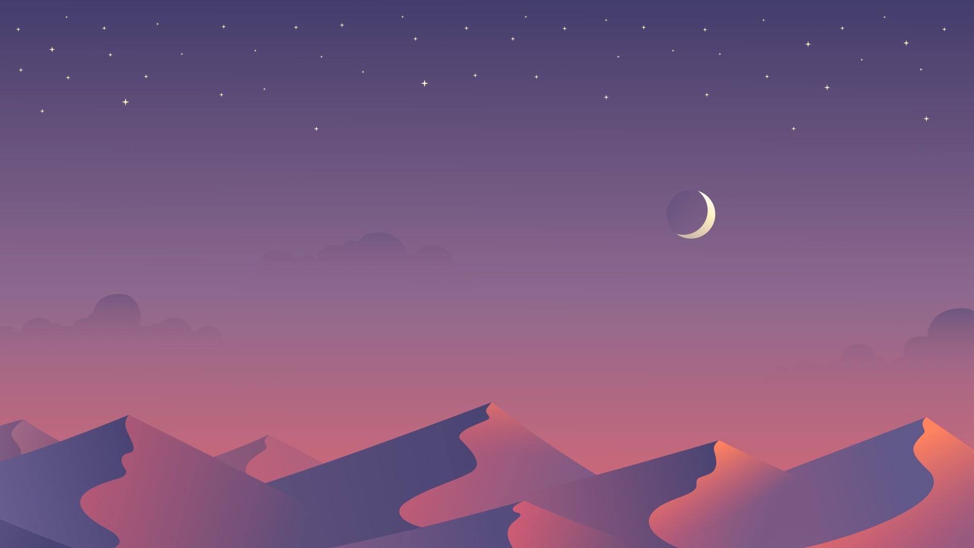 Sky Minimalist Wallpaper