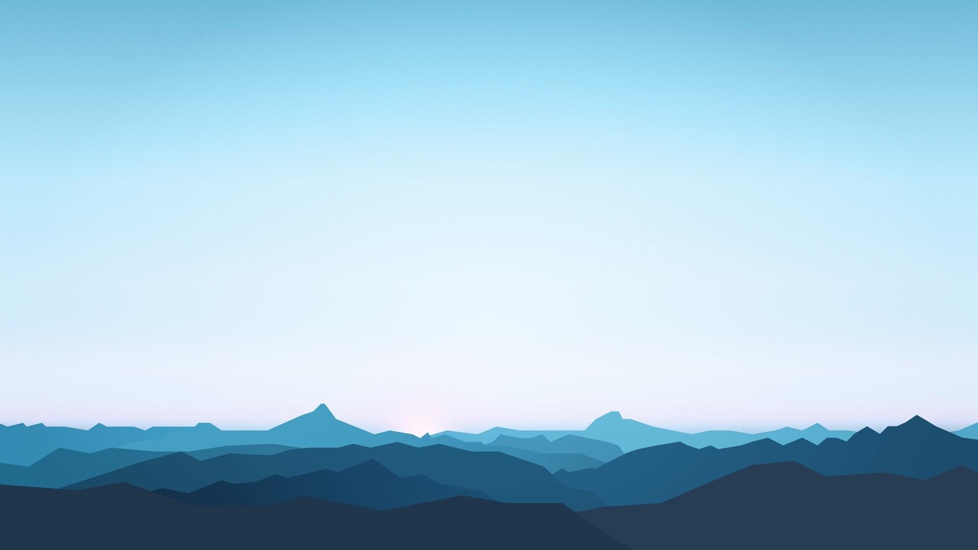 Sky Minimalist hd desktop wallpaper