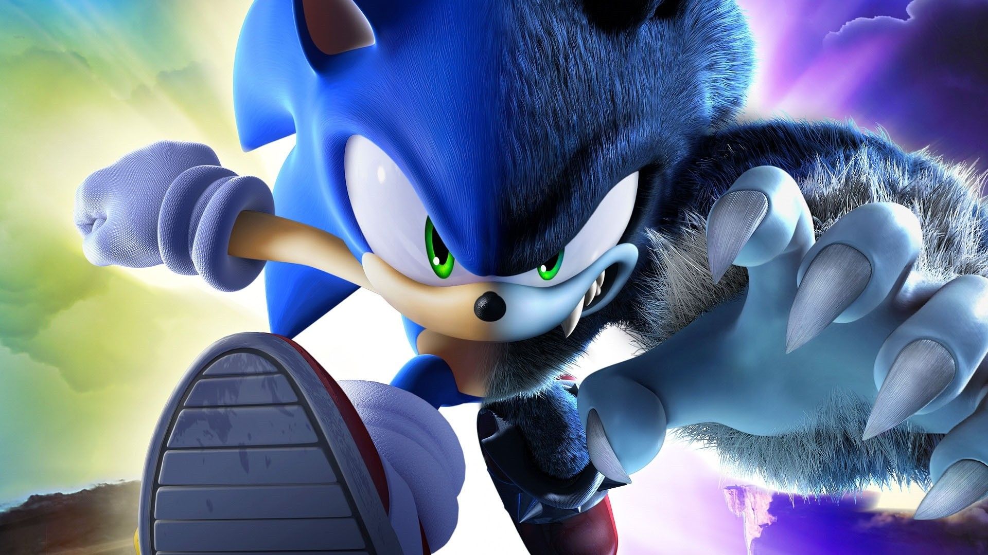 Sonic Wallpaper theme