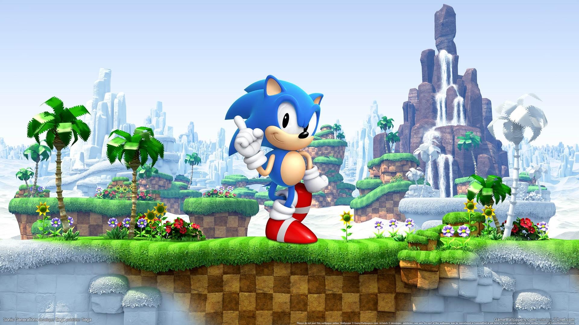 Sonic computer wallpaper