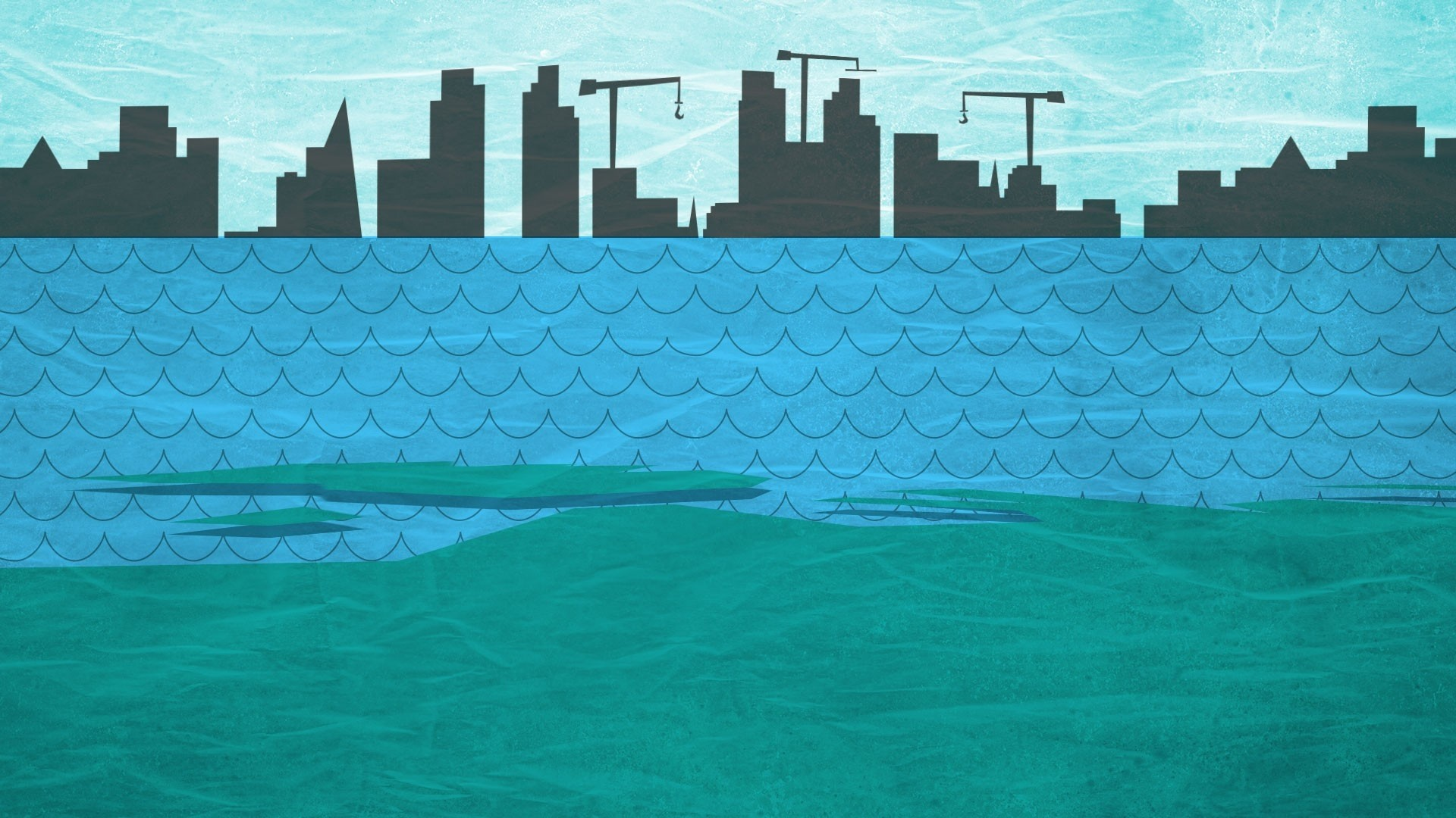 Water Minimalist computer wallpaper