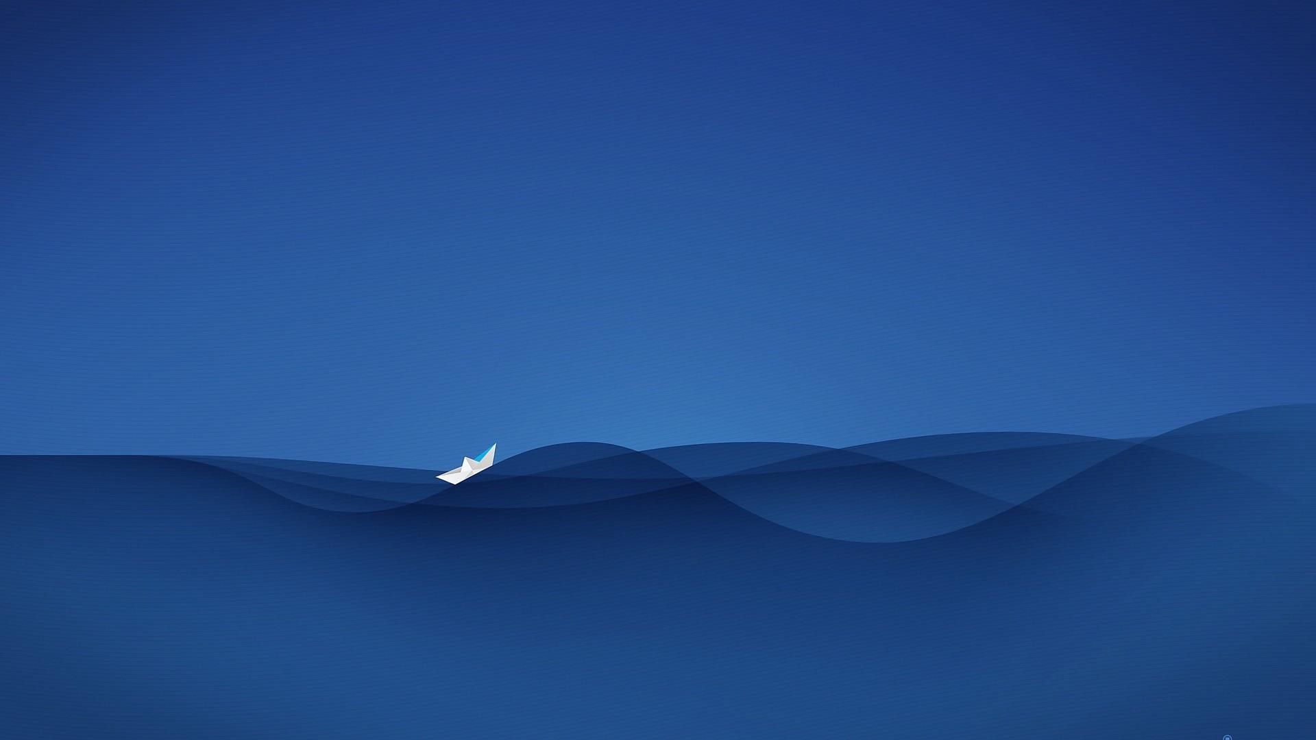 Water Minimalist PC Wallpaper