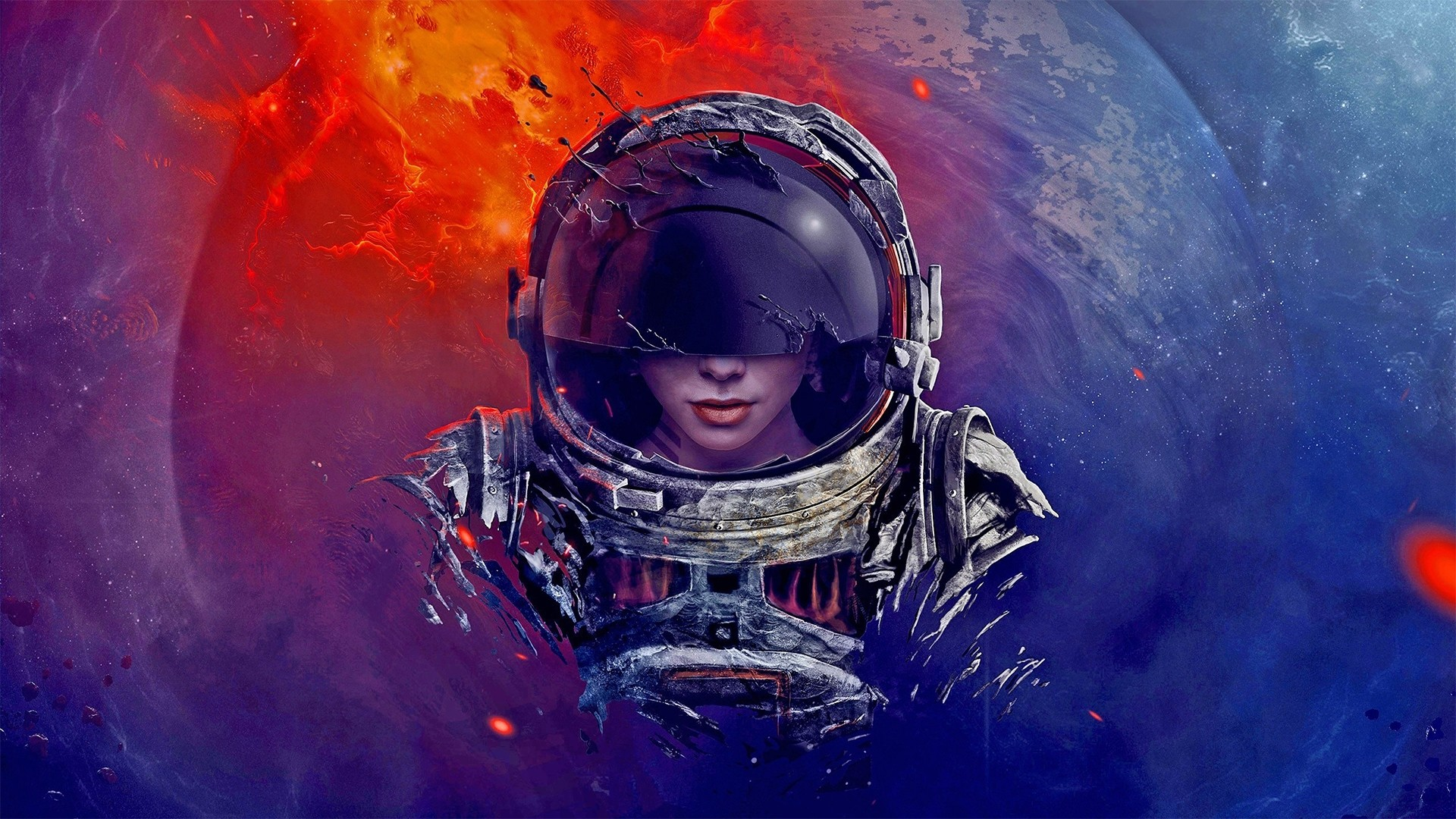 Astronaut Wallpaper and Background