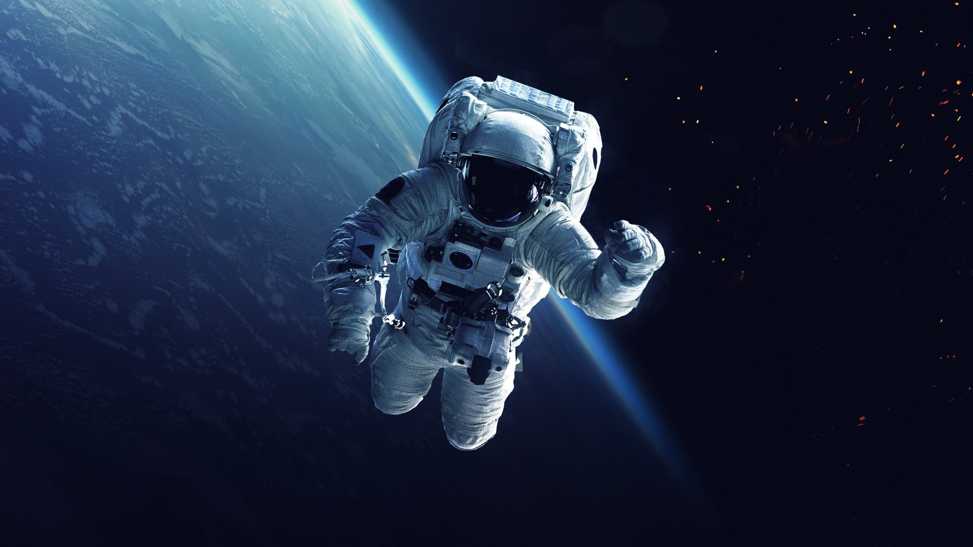 Astronaut Wallpaper theme