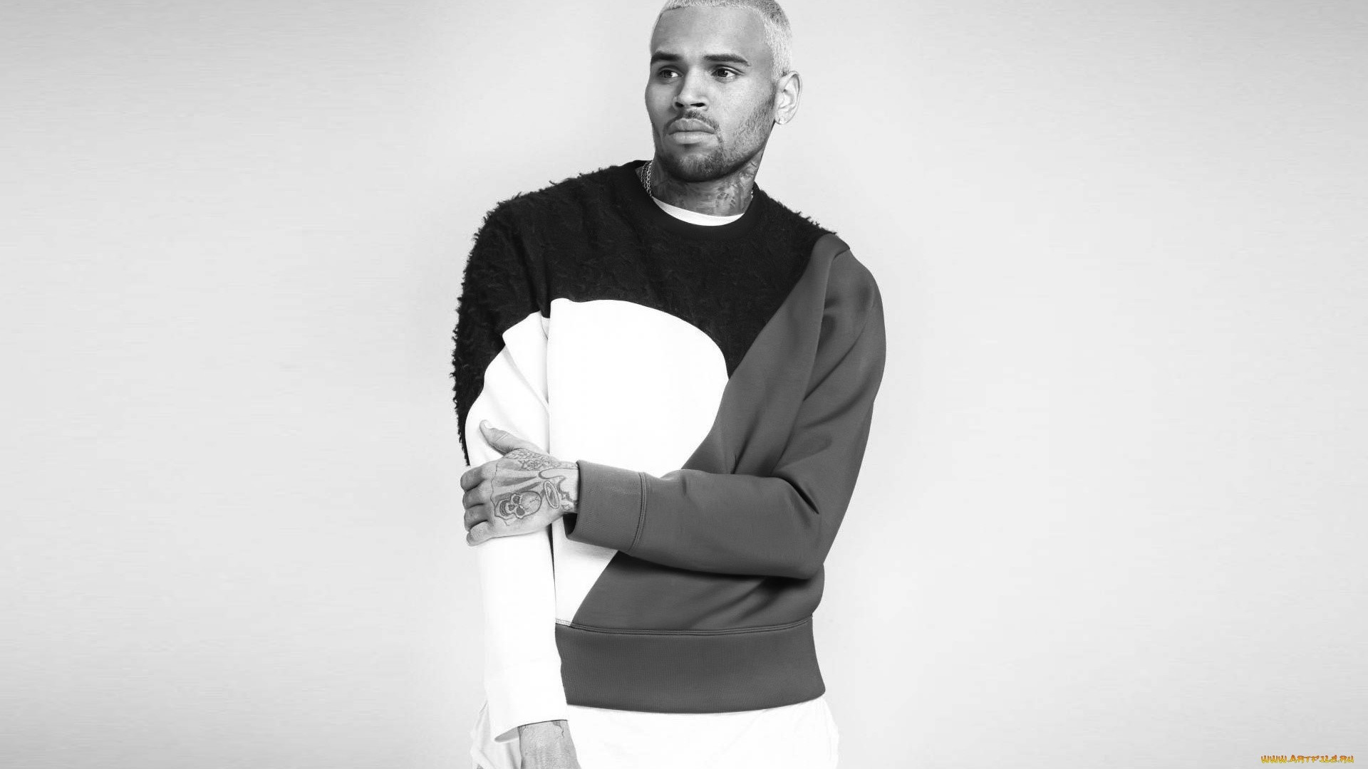Chris Brown Wallpaper theme