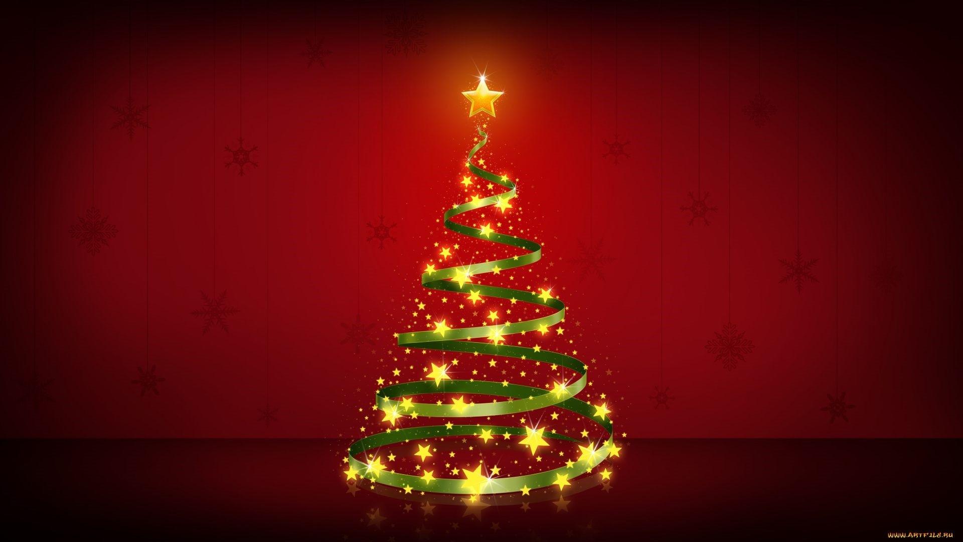 Christmas Tree a wallpaper