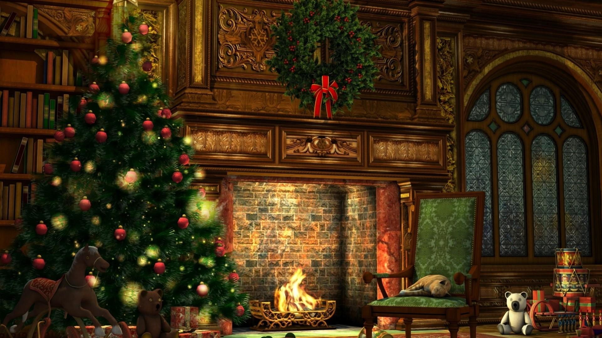 Christmas Tree Desktop wallpaper