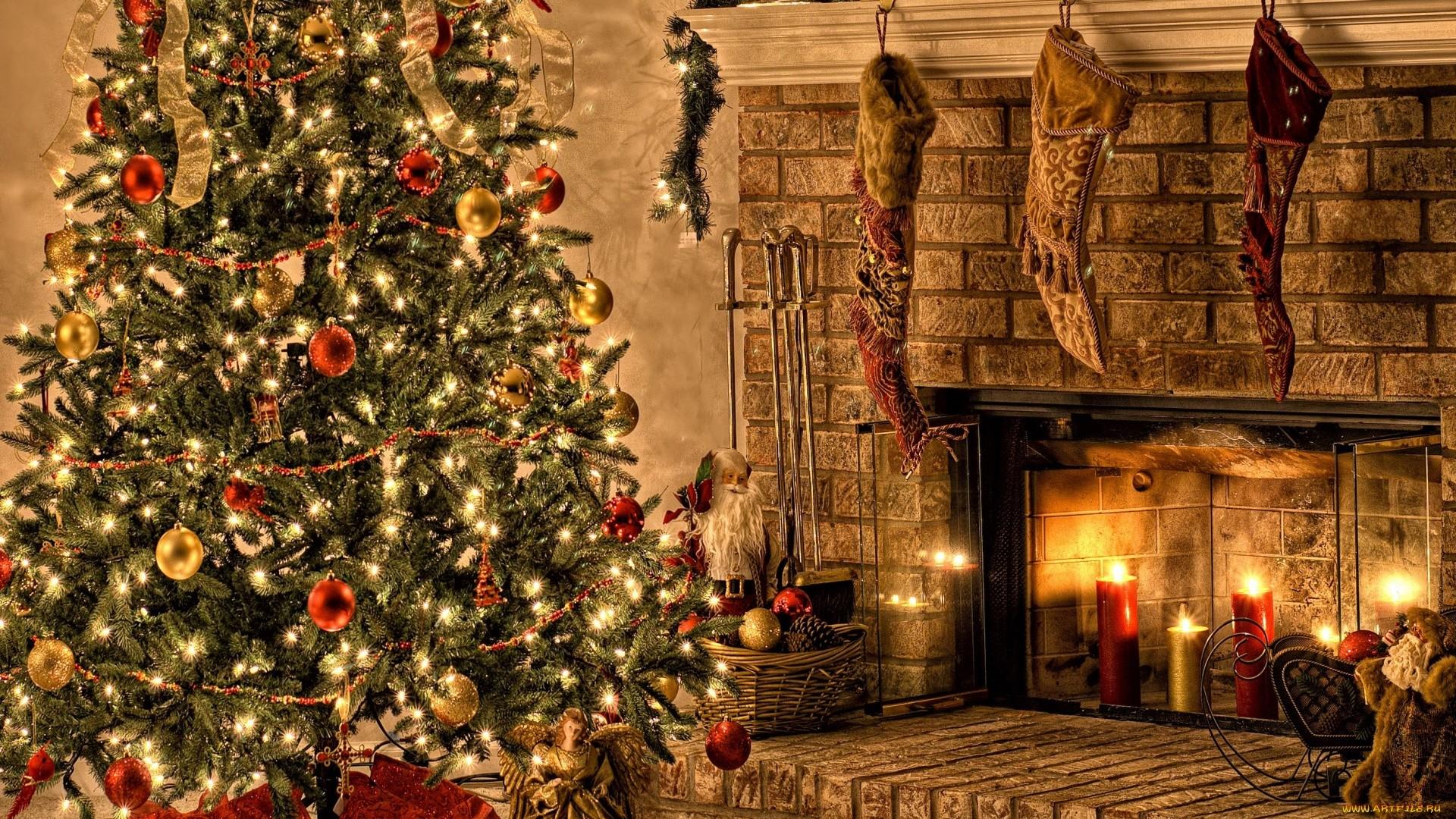 Christmas Tree PC Wallpaper HD