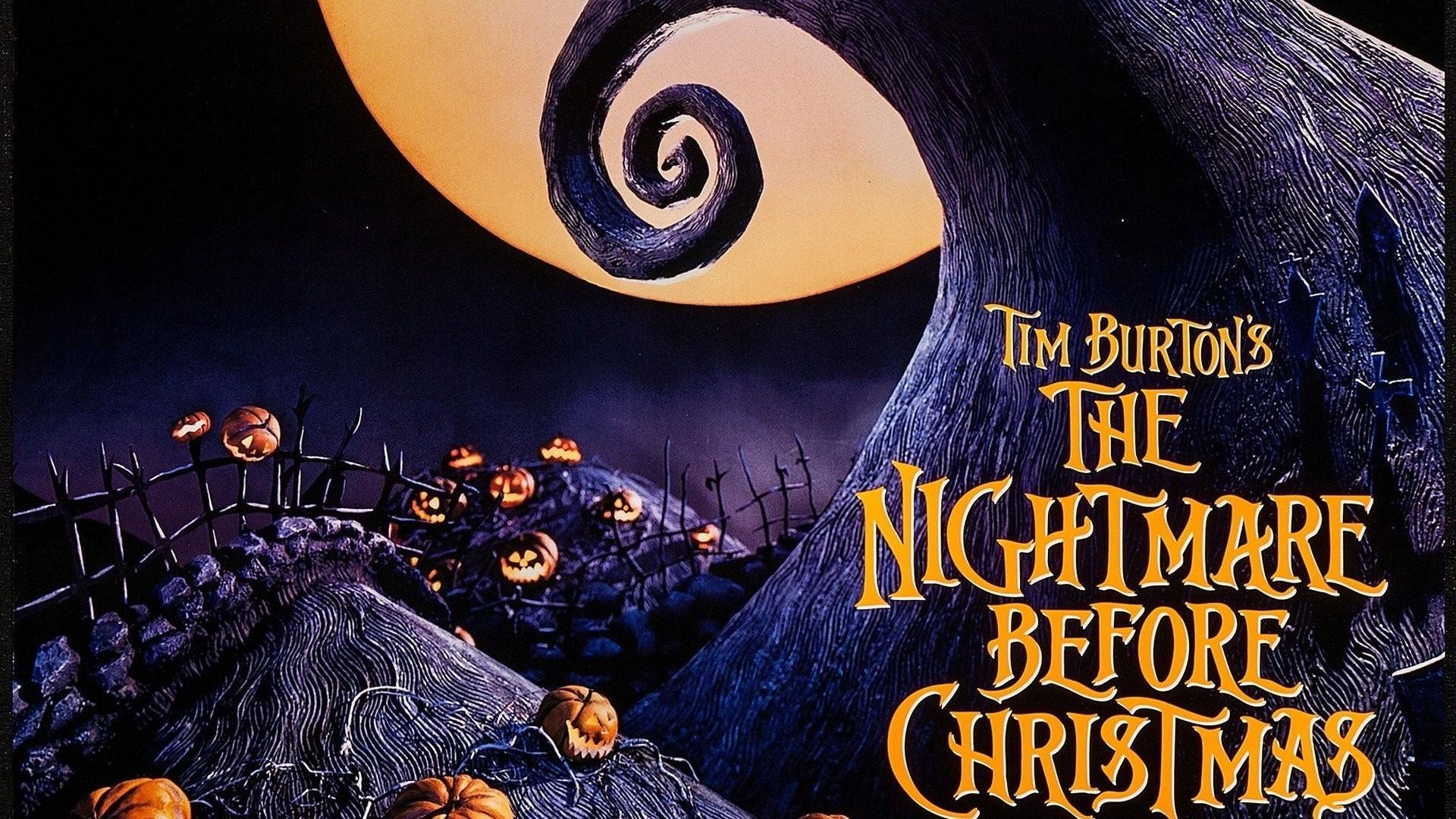 Nightmare Before Christmas HD Wallpaper