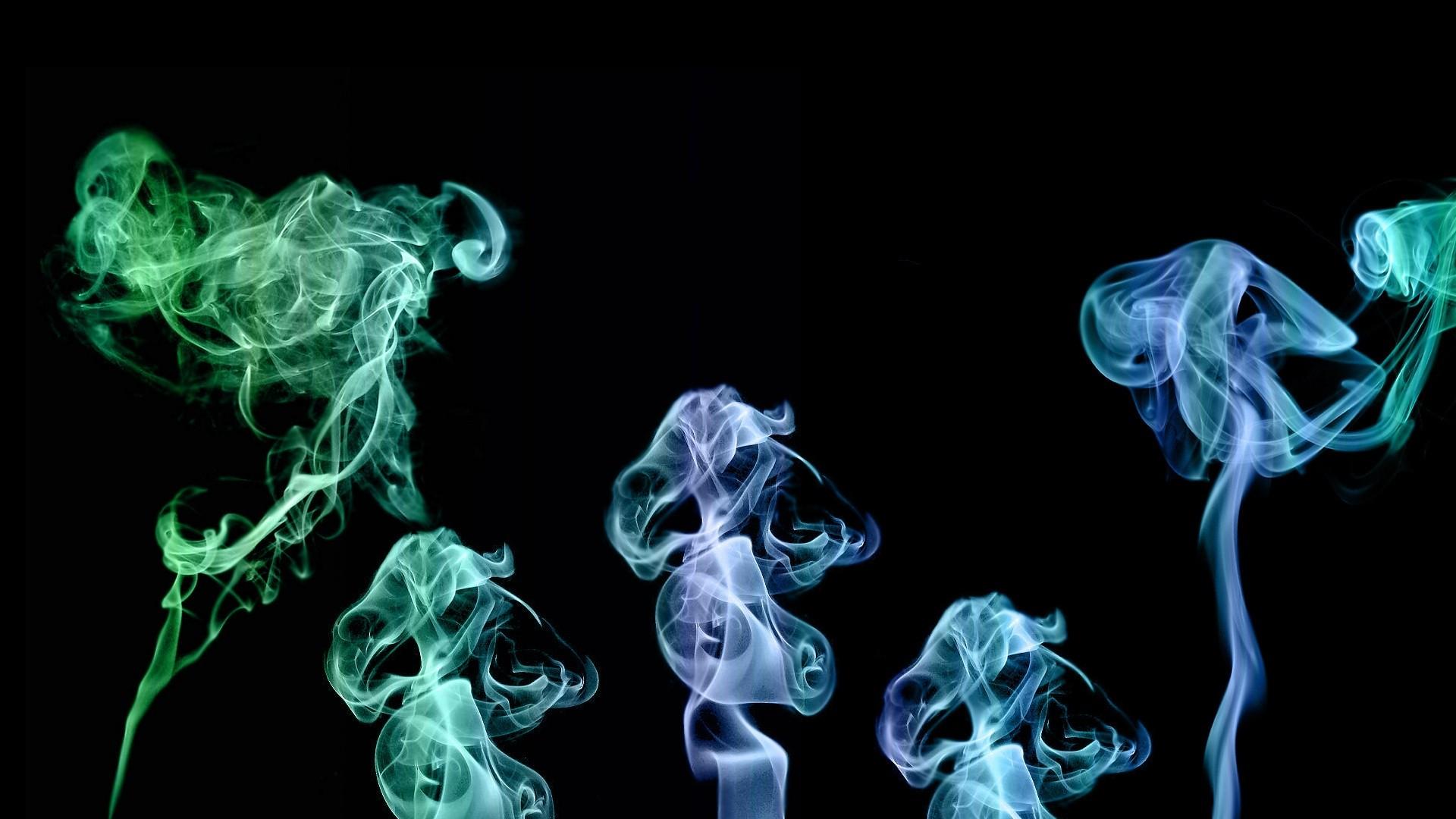 Smoke Desktop wallpaper