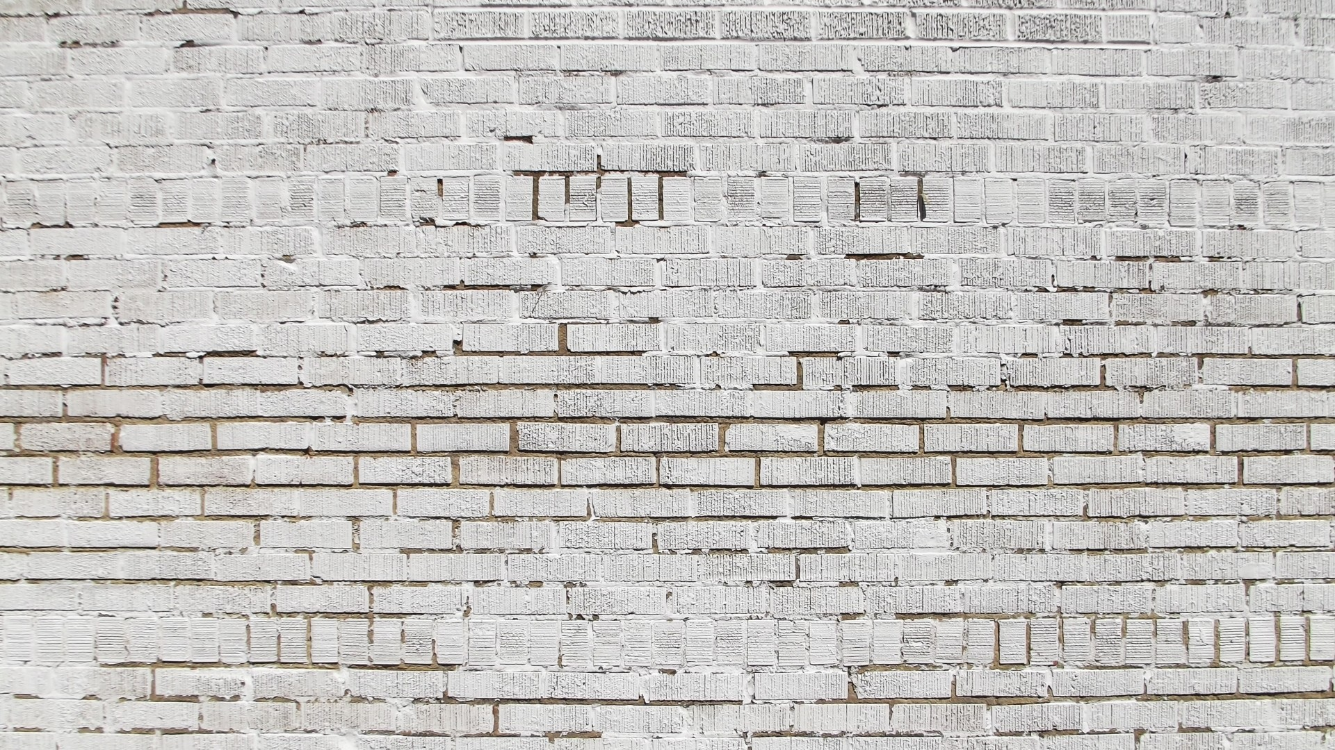 White Brick PC Wallpaper HD
