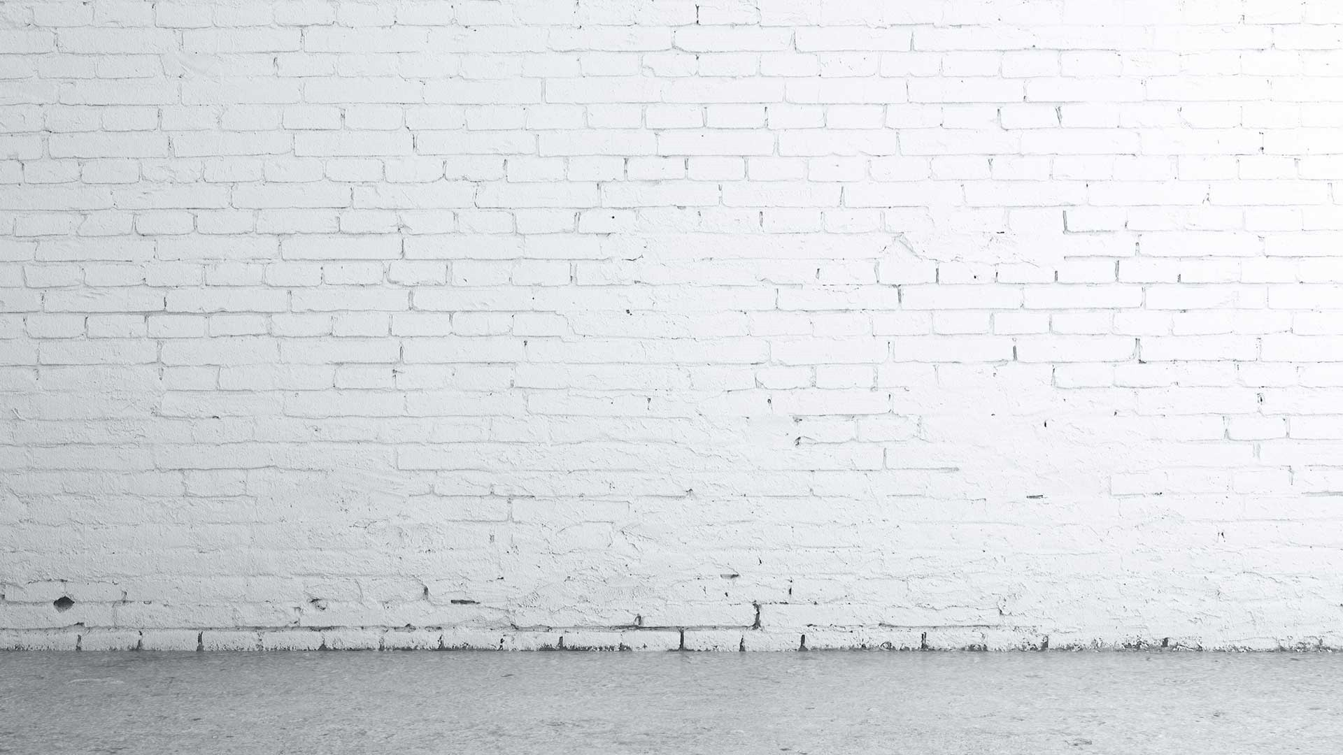 White Brick Background Wallpaper