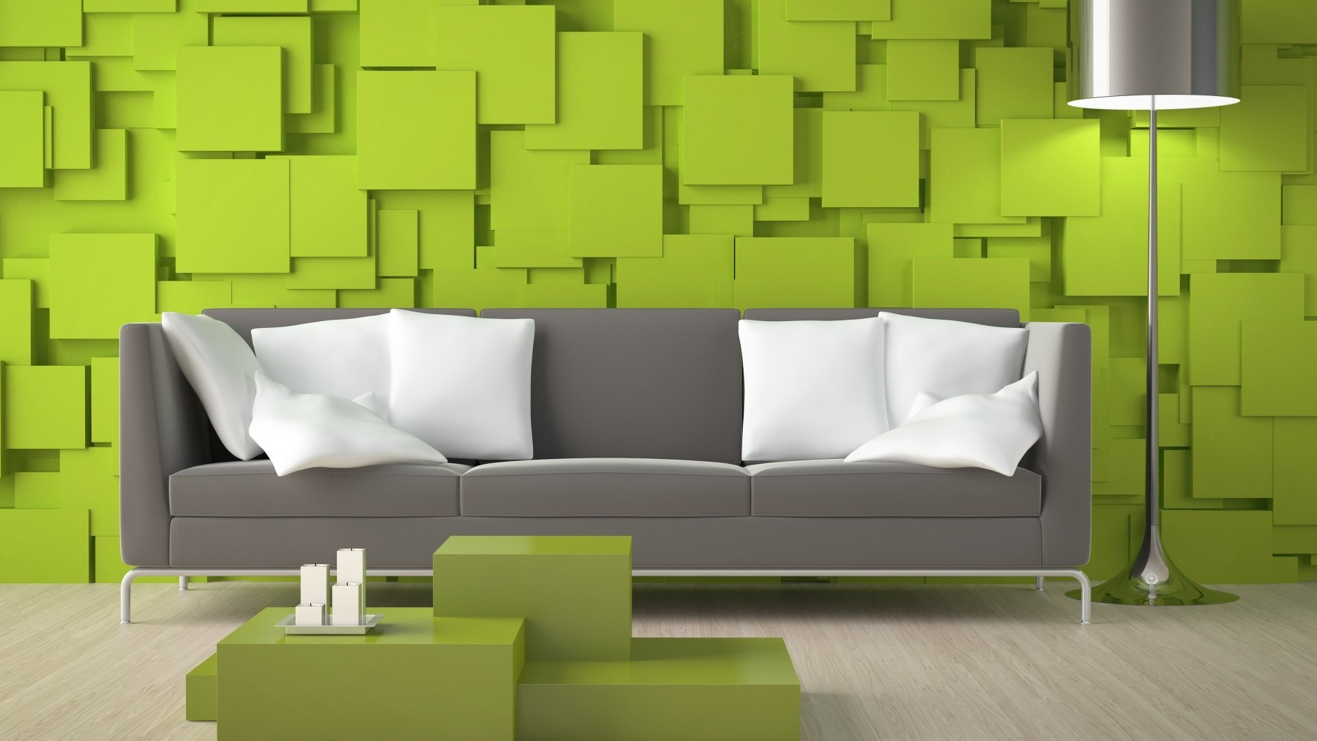 Accent Wall Wallpaper theme