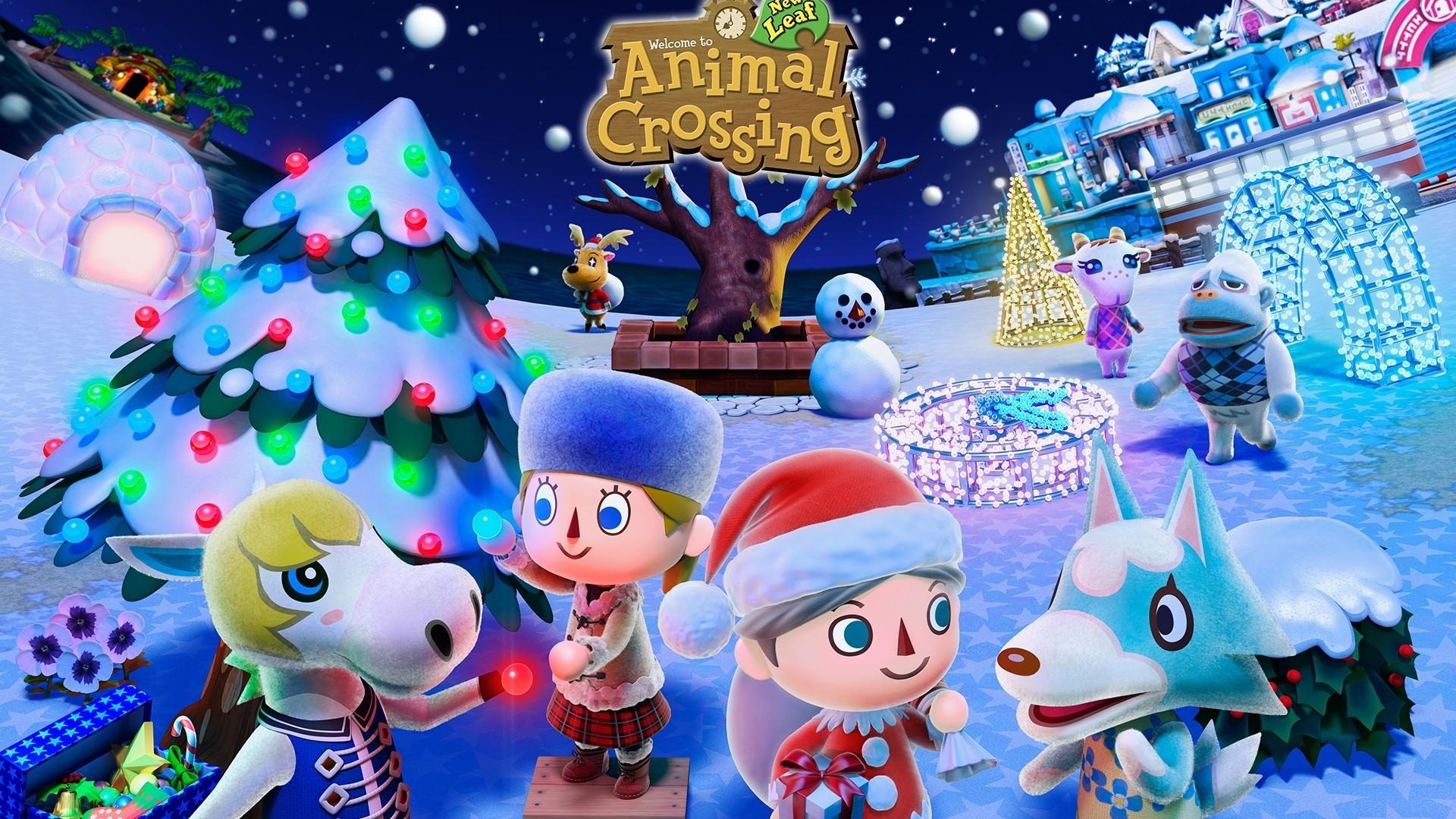Animal Crossing PC Wallpaper HD