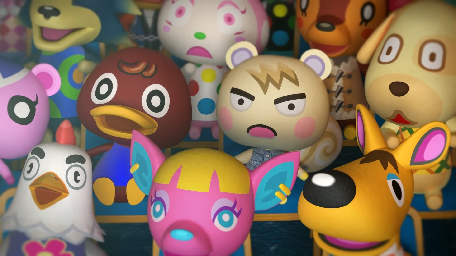 Animal Crossing hd desktop wallpaper