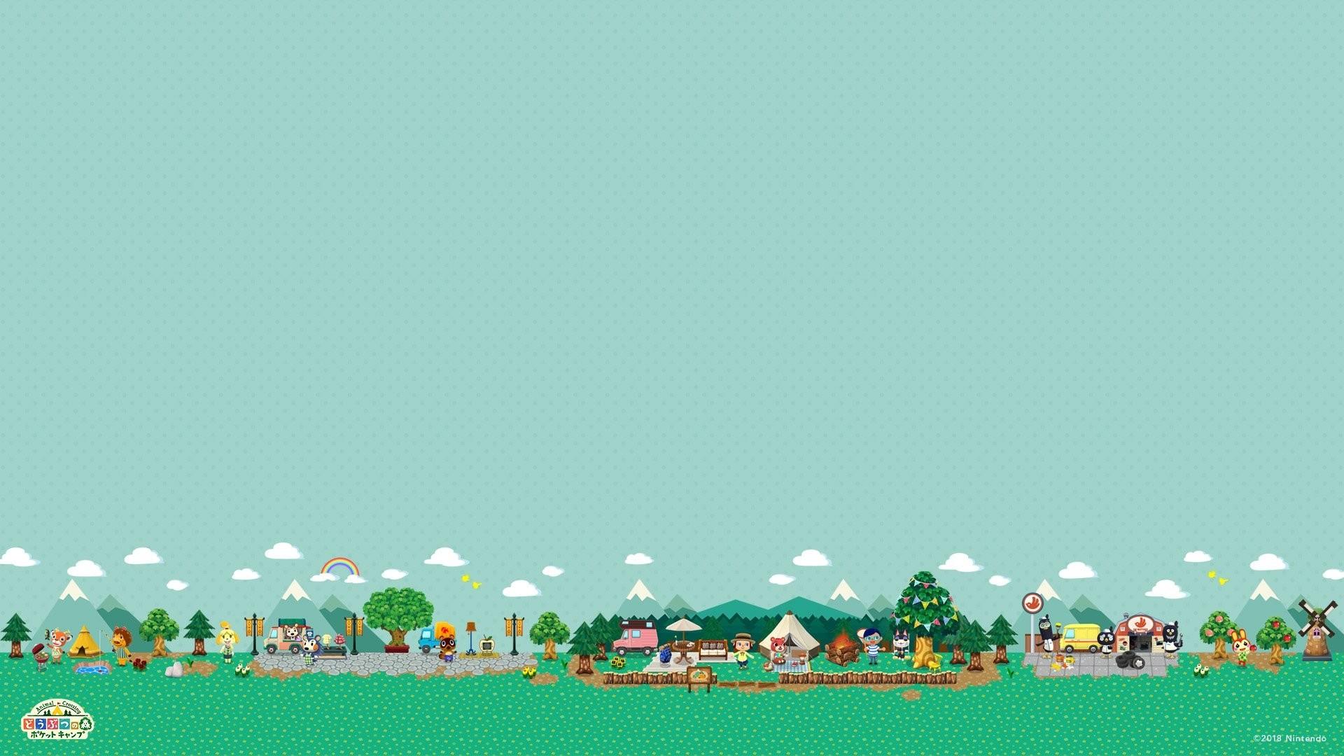 Animal Crossing HD Wallpaper