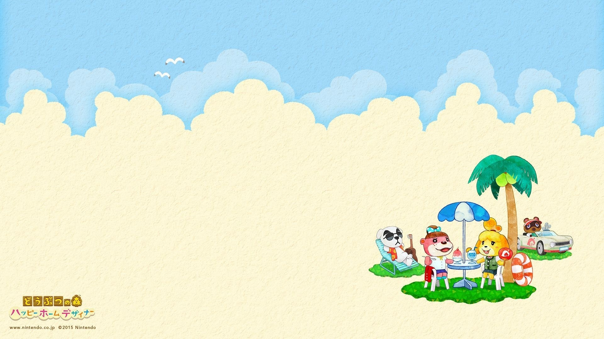 Animal Crossing Free Wallpaper