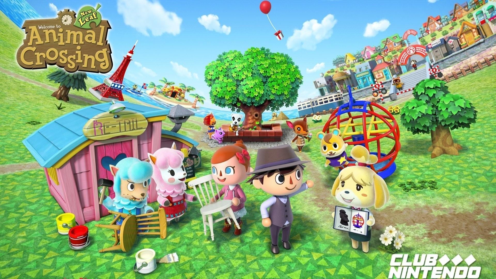 Animal Crossing hd wallpaper download