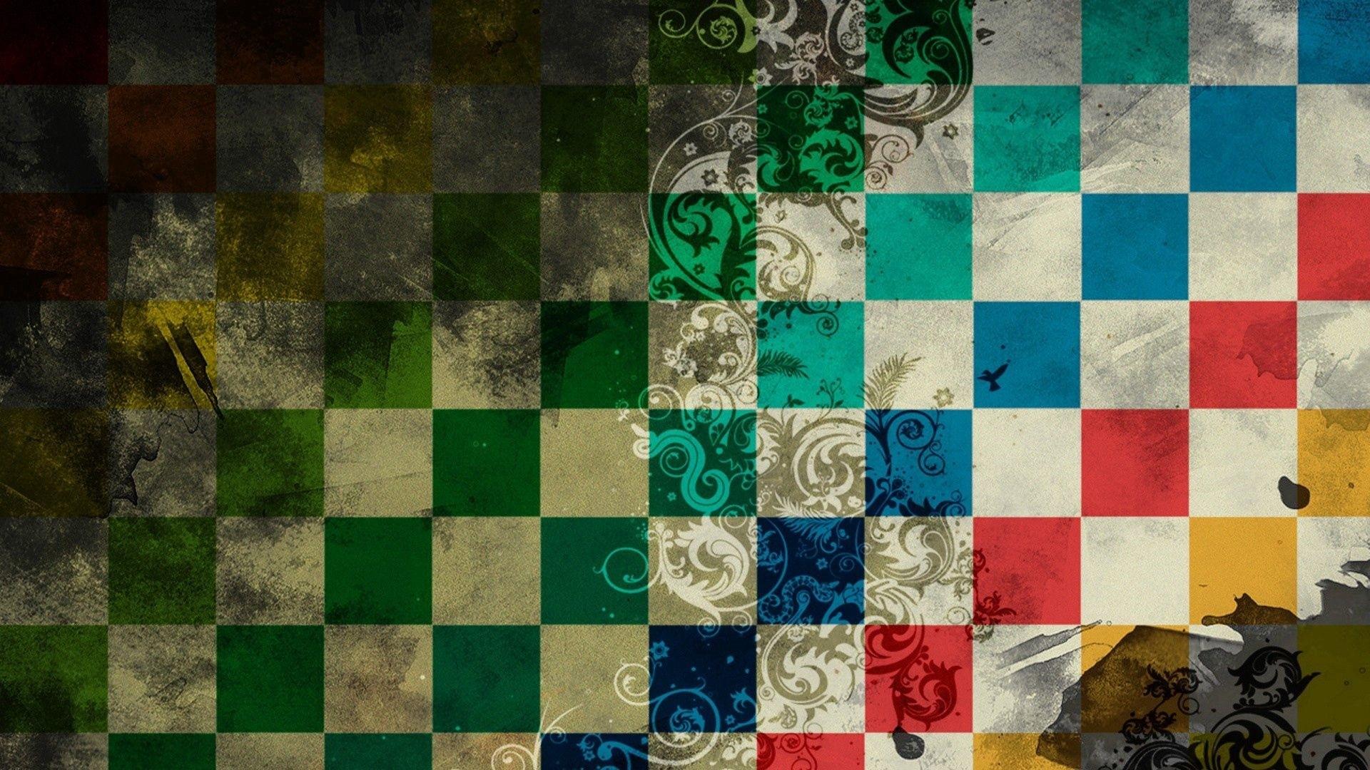 Checkered a wallpaper