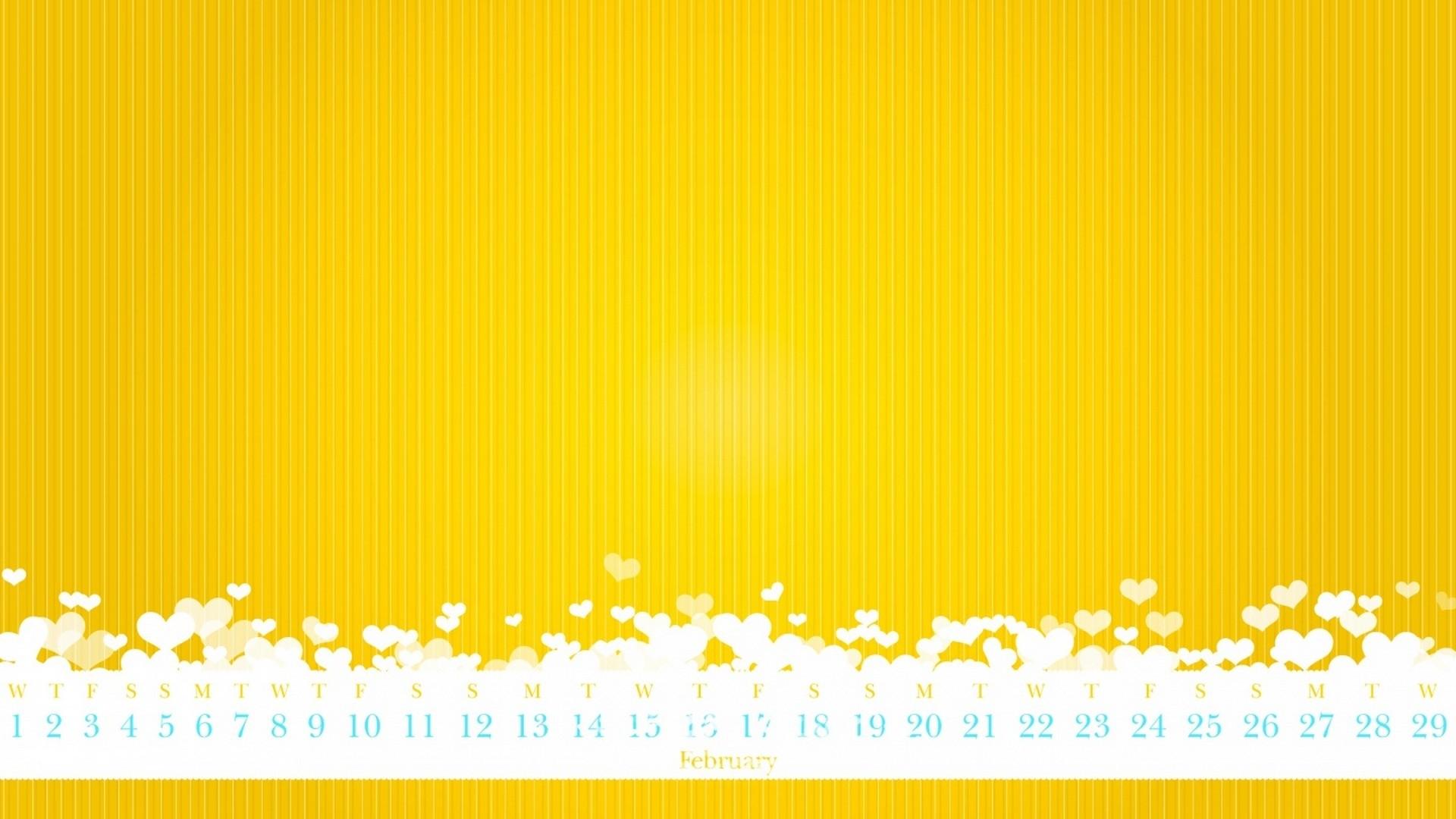 Cute Yellow Free Wallpaper