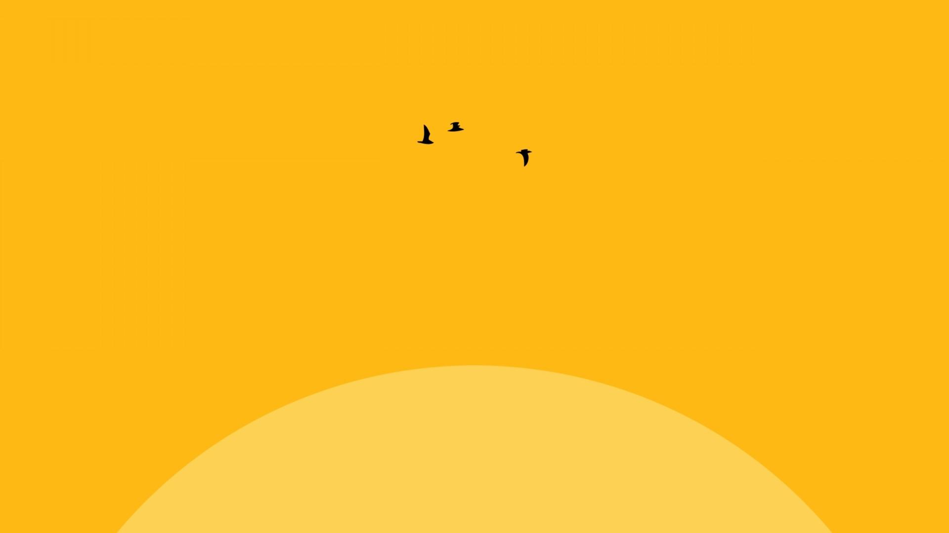 Cute Yellow HD Wallpaper