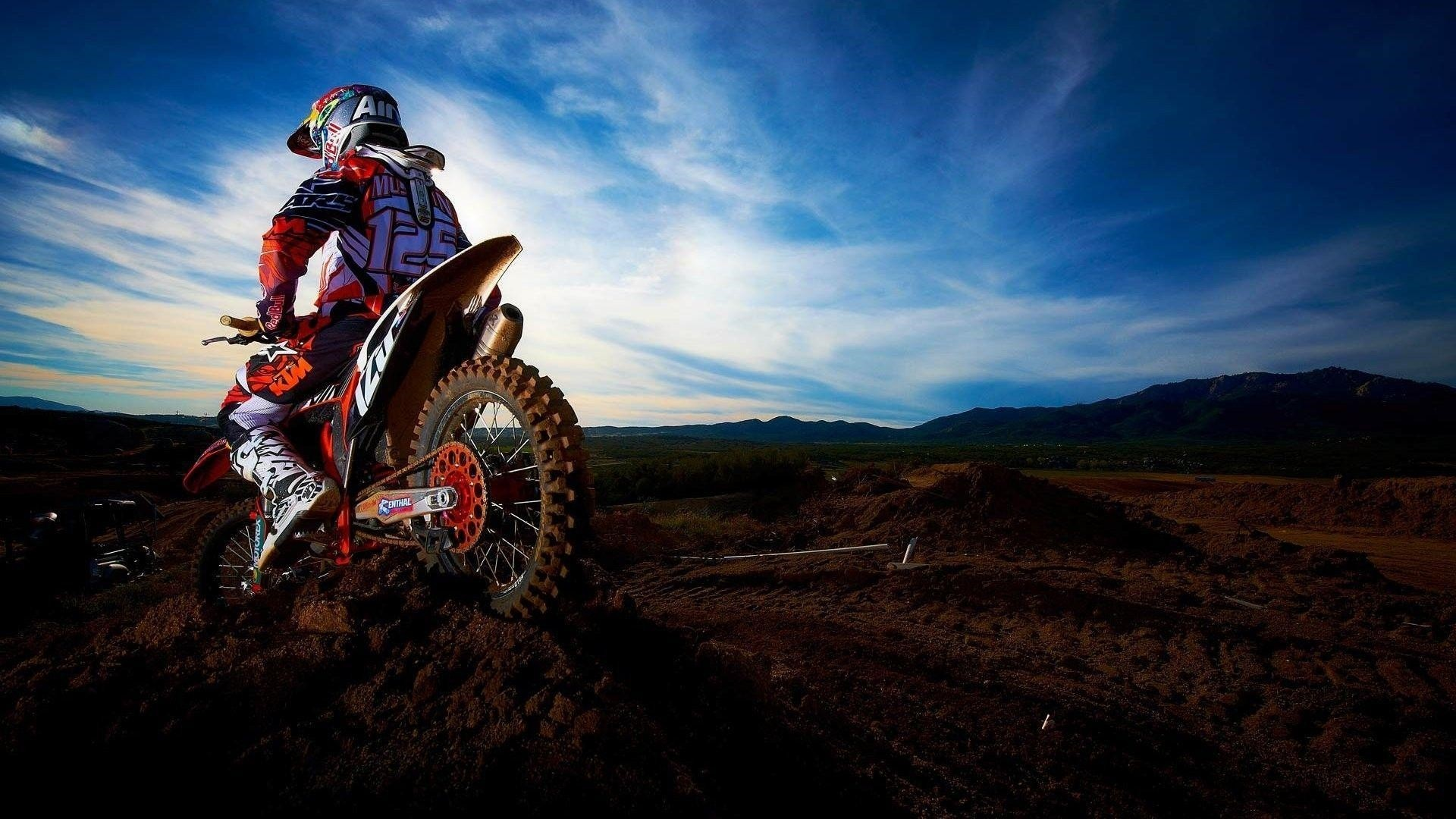 Dirt Bike Background Wallpaper