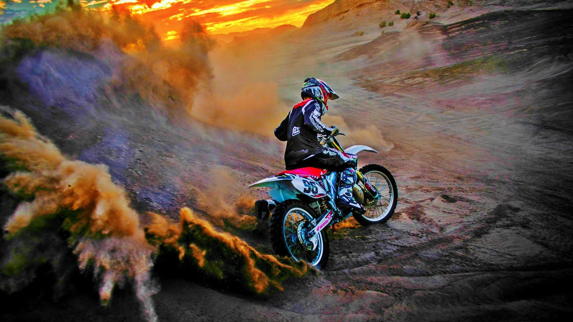 Dirt Bike hd desktop wallpaper