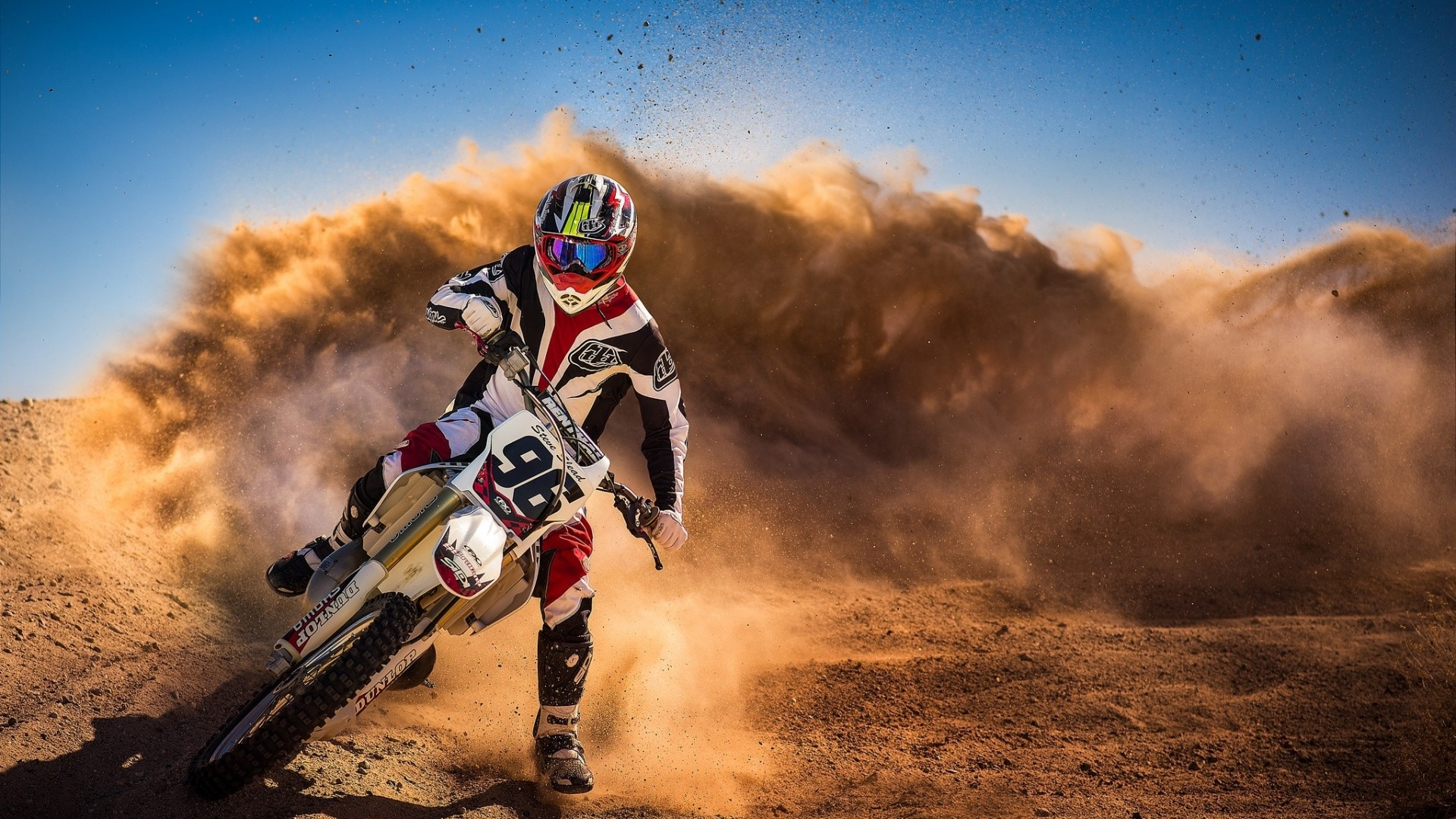 Dirt Bike HD Wallpaper