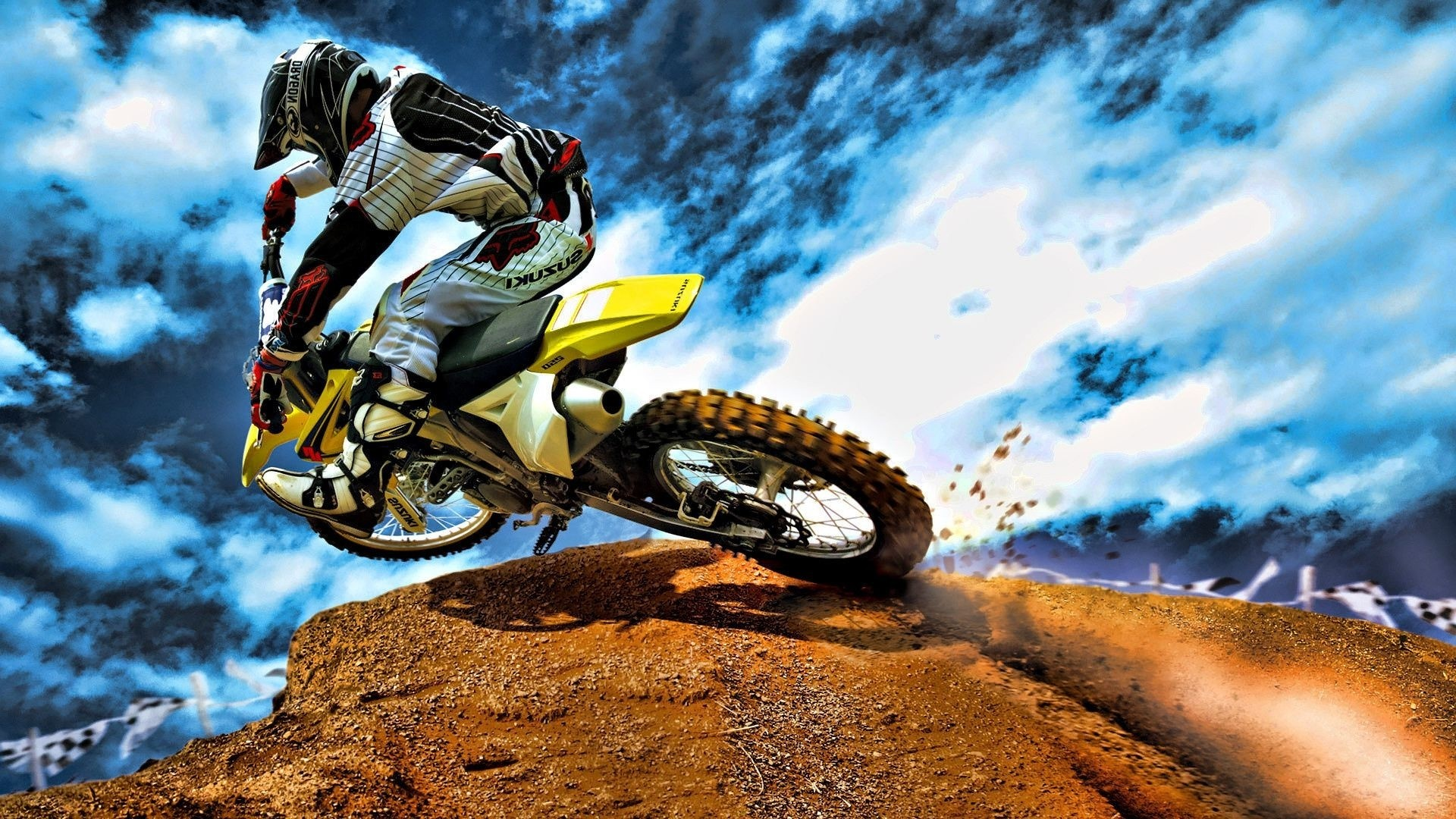 Dirt Bike Full HD Wallpaper