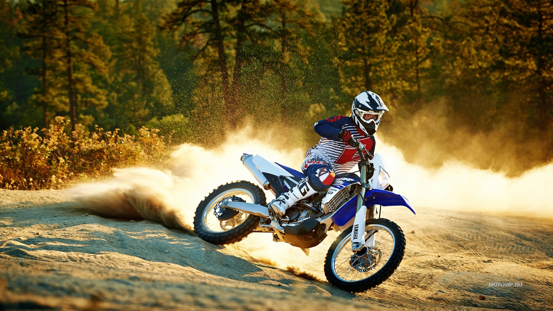 Dirt Bike Background