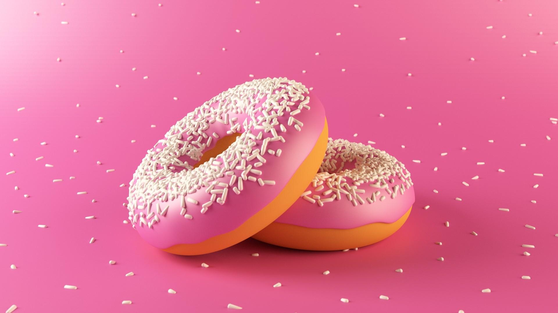 Donut HD Wallpaper