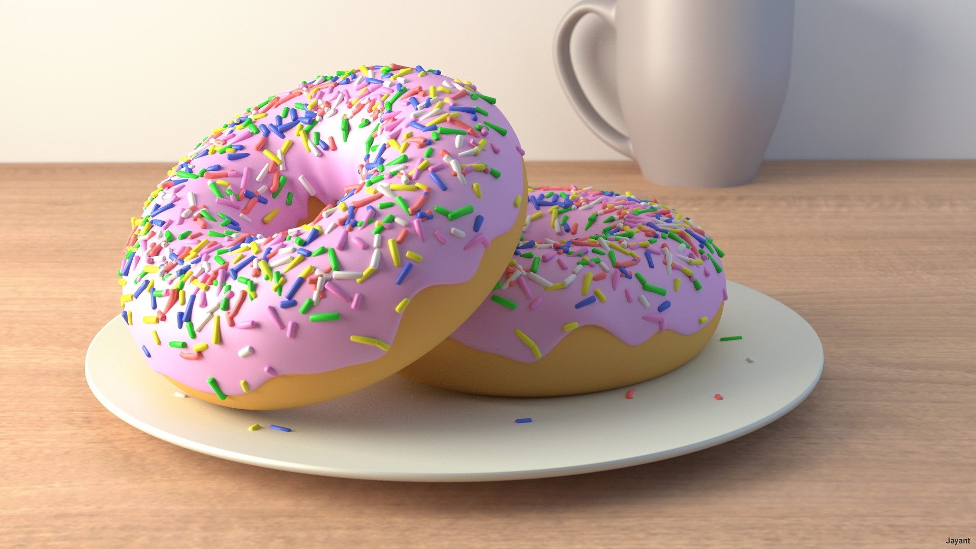 Donut Wallpaper Picture hd