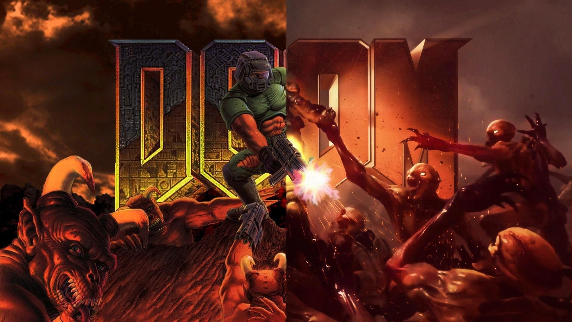 Doom Background