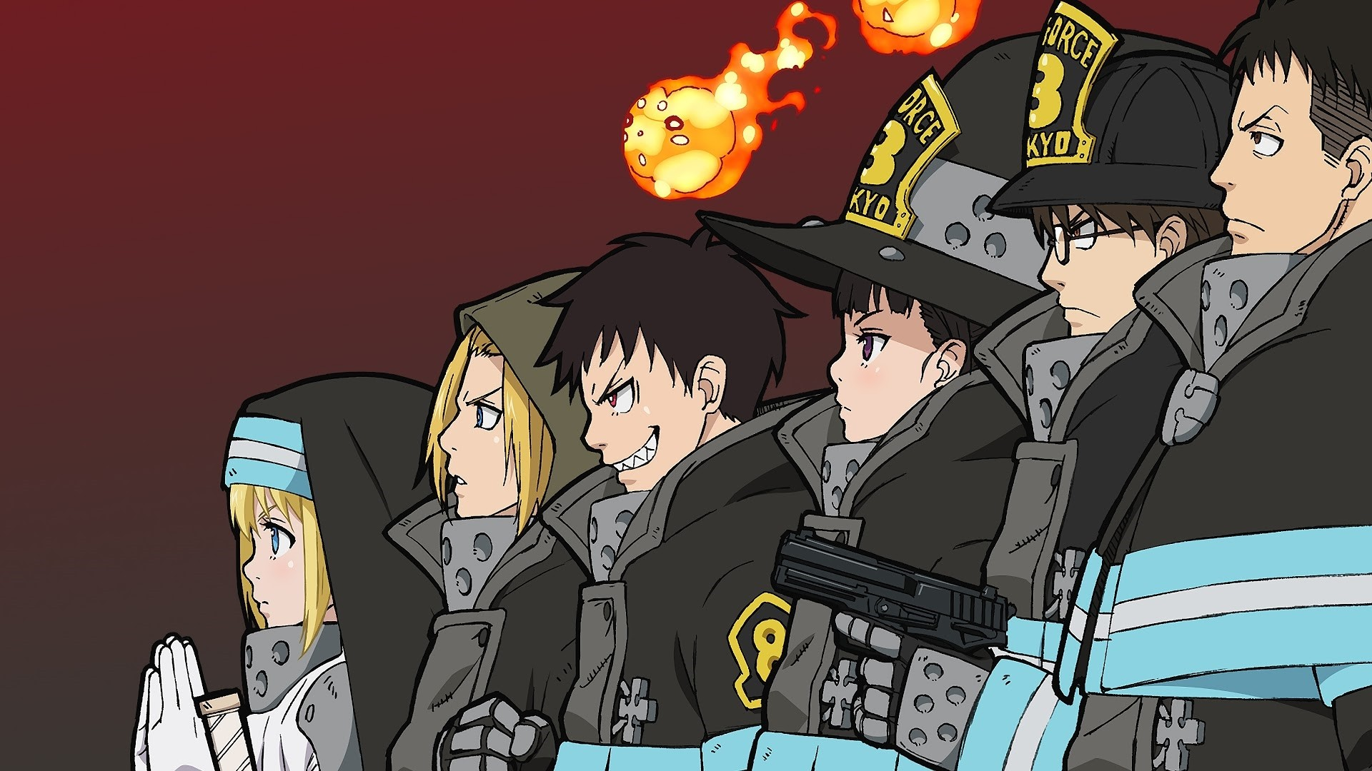 Fire Force Wallpapers: 20+ Images - WallpaperBoat